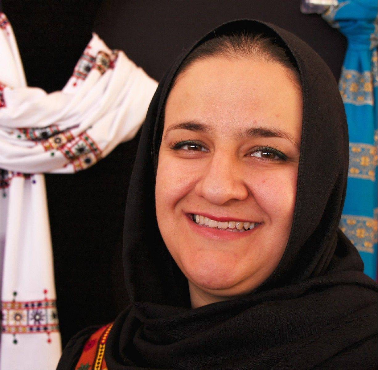 Rangina Hamidi will represent Kandahar Treasure, an Afghan�s women�s cooperative, at the annual market in Santa Fe.
