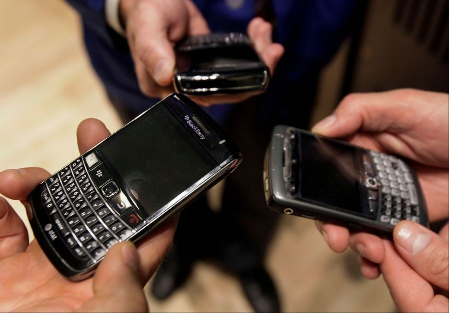 Research In Motion, the BlackBerry maker whose stock has dropped 95 percent since 2008, is under pressure from mobile phone companies to reduce carrier fees that generate $4.09 billion in annual revenue.