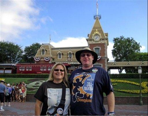 Jeff Reitz, 39, and Tonya Mickesh, 45, are on a mission to visit Disneyland every day in 2012.