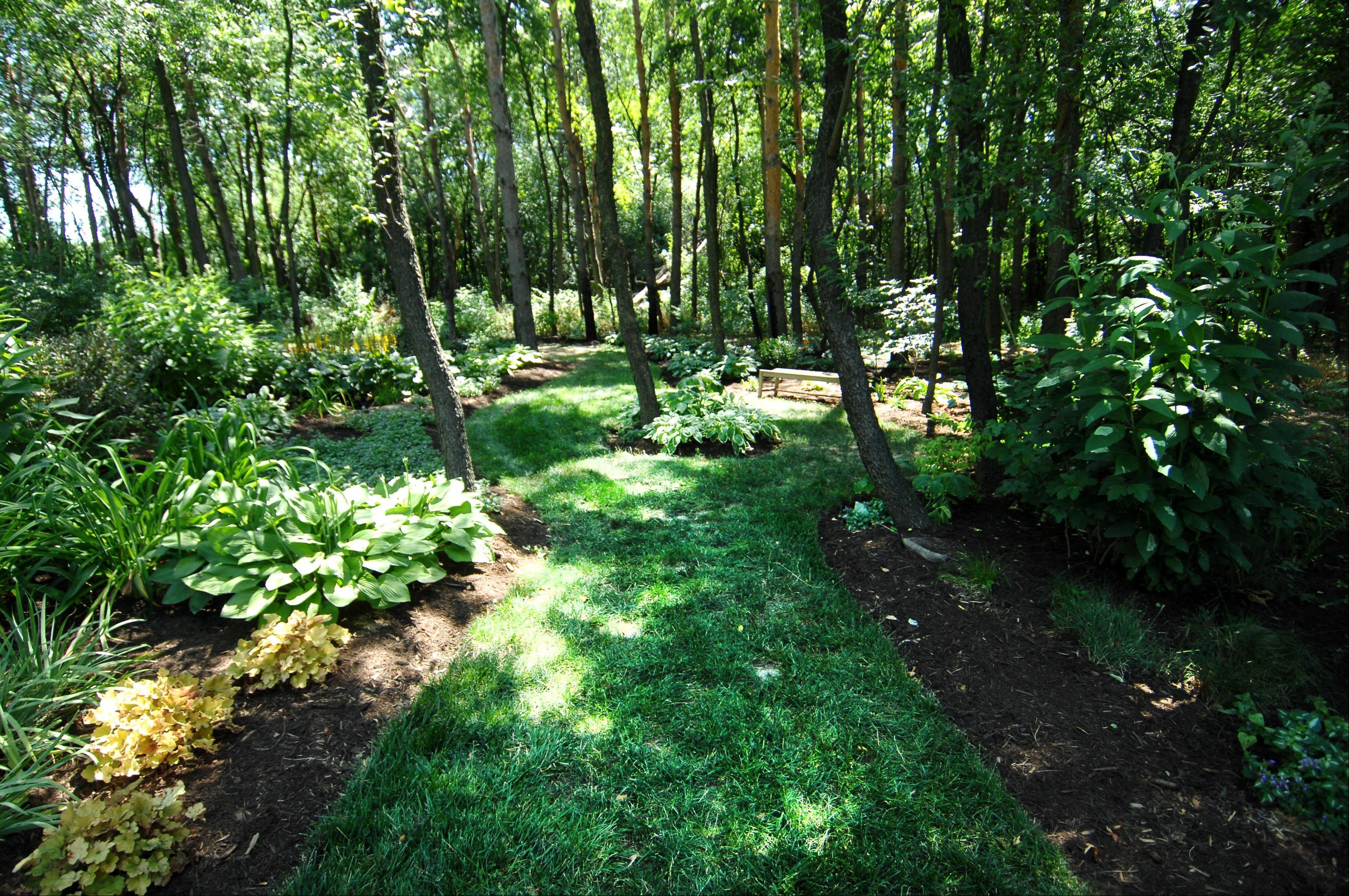 Here's an example of what awaits visitors at Tranquility Trails on the Bull Valley garden walk.