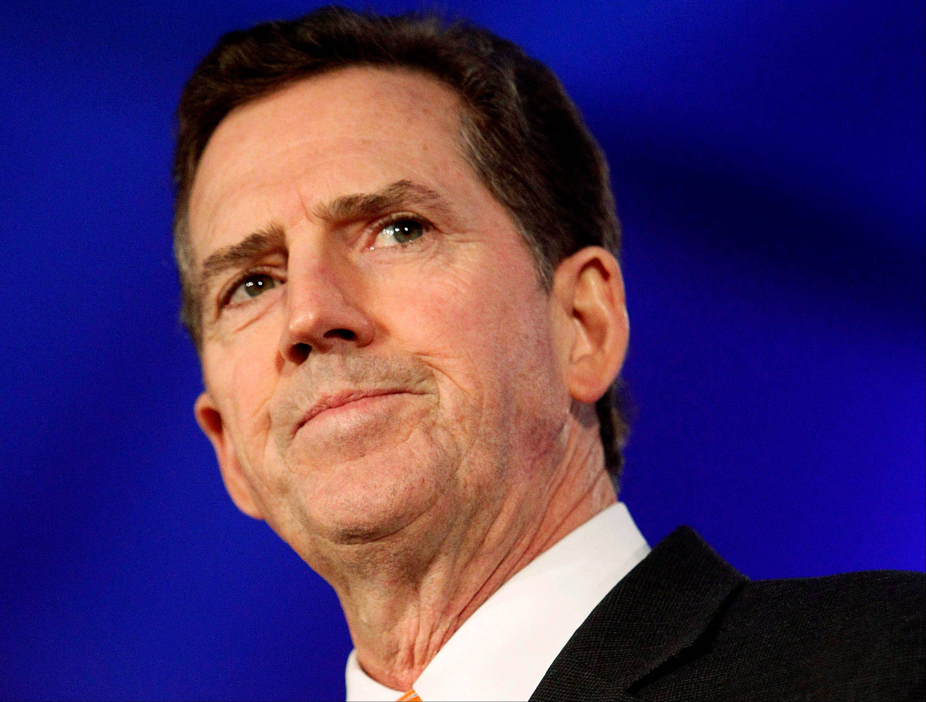 Sen. Jim DeMint, a South Carolina Republican, warned the combination of big government and big industry is creating a nation that is becoming �too big to succeed.� (AP Photo/Patrick Semansky, File)