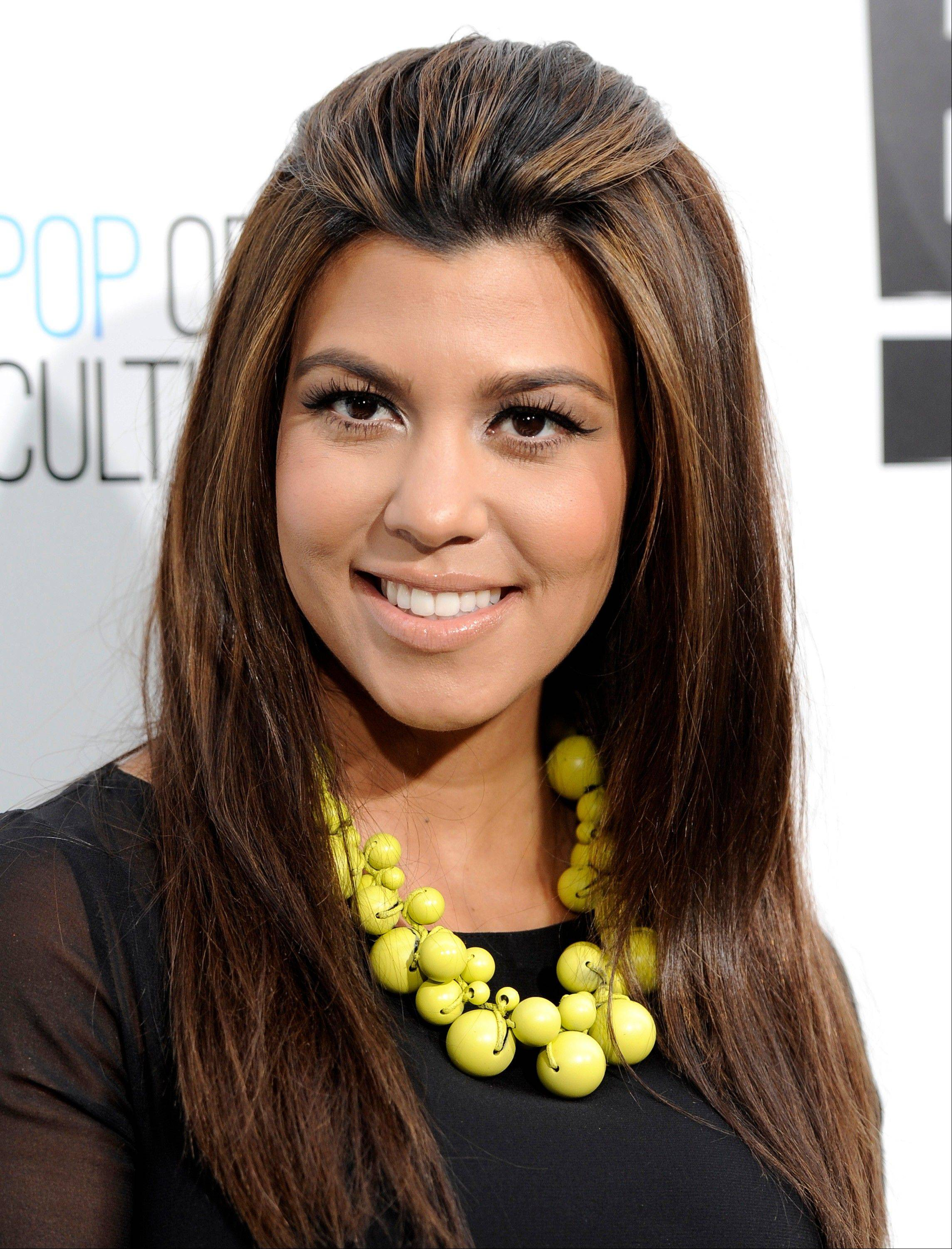 Kourtney Kardashian gave birth to a girl she�s naming Penelope early Sunday.