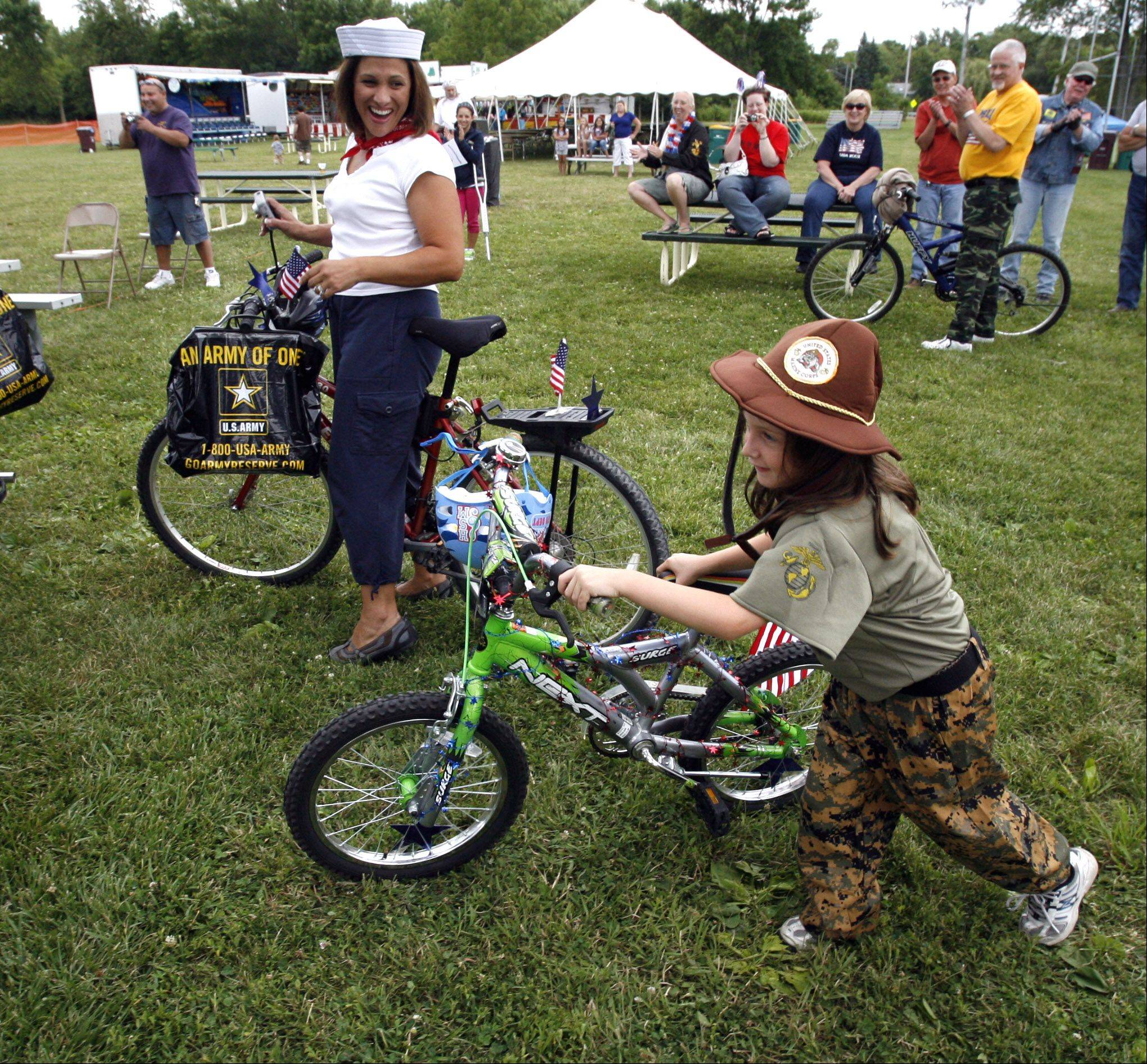 A bike and wagon parade is scheduled for Saturday at the Grandwood Park Summerfest.