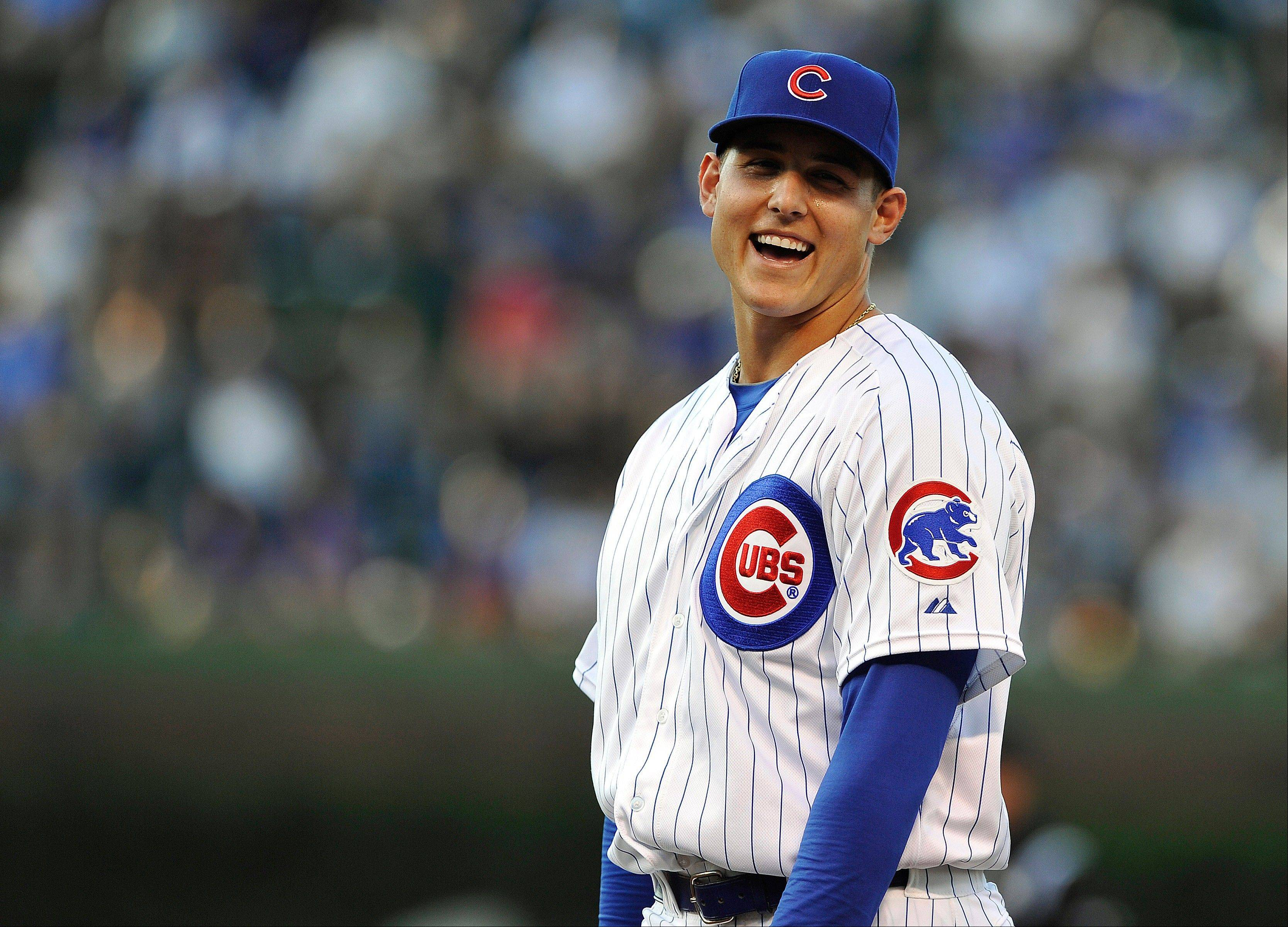 Anthony Rizzo has delivered plenty of smiles to Cubs fans since he joined the big club. Rizzo, who had an eight-game hitting streak snapped Sunday, has delivered 4 game-winning RBI.
