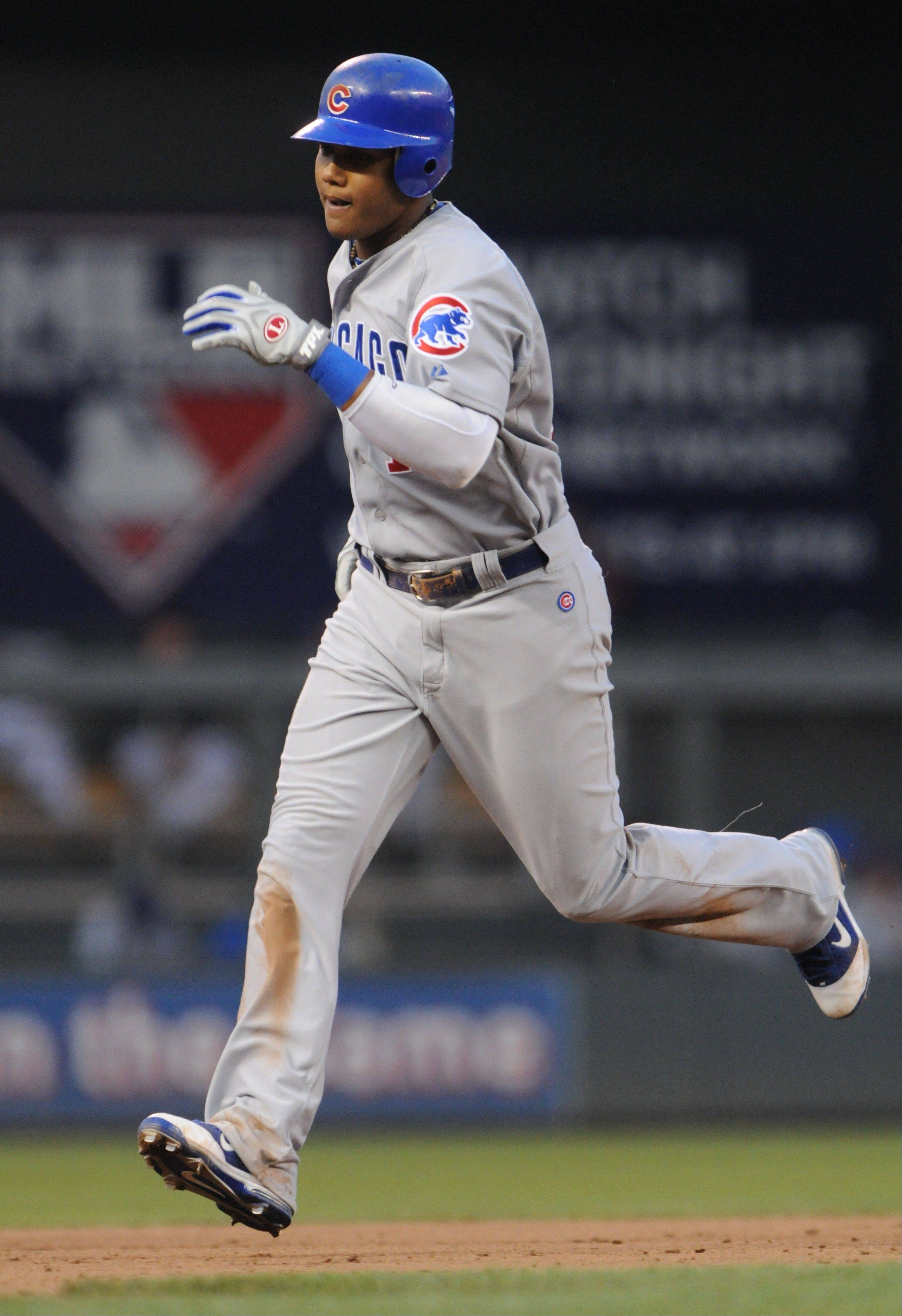 Last season at this point Cubs shortstop Starlin Castro had 2 home runs and finished the year with 10. This time around he already has 7 home runs and played some solid defense.