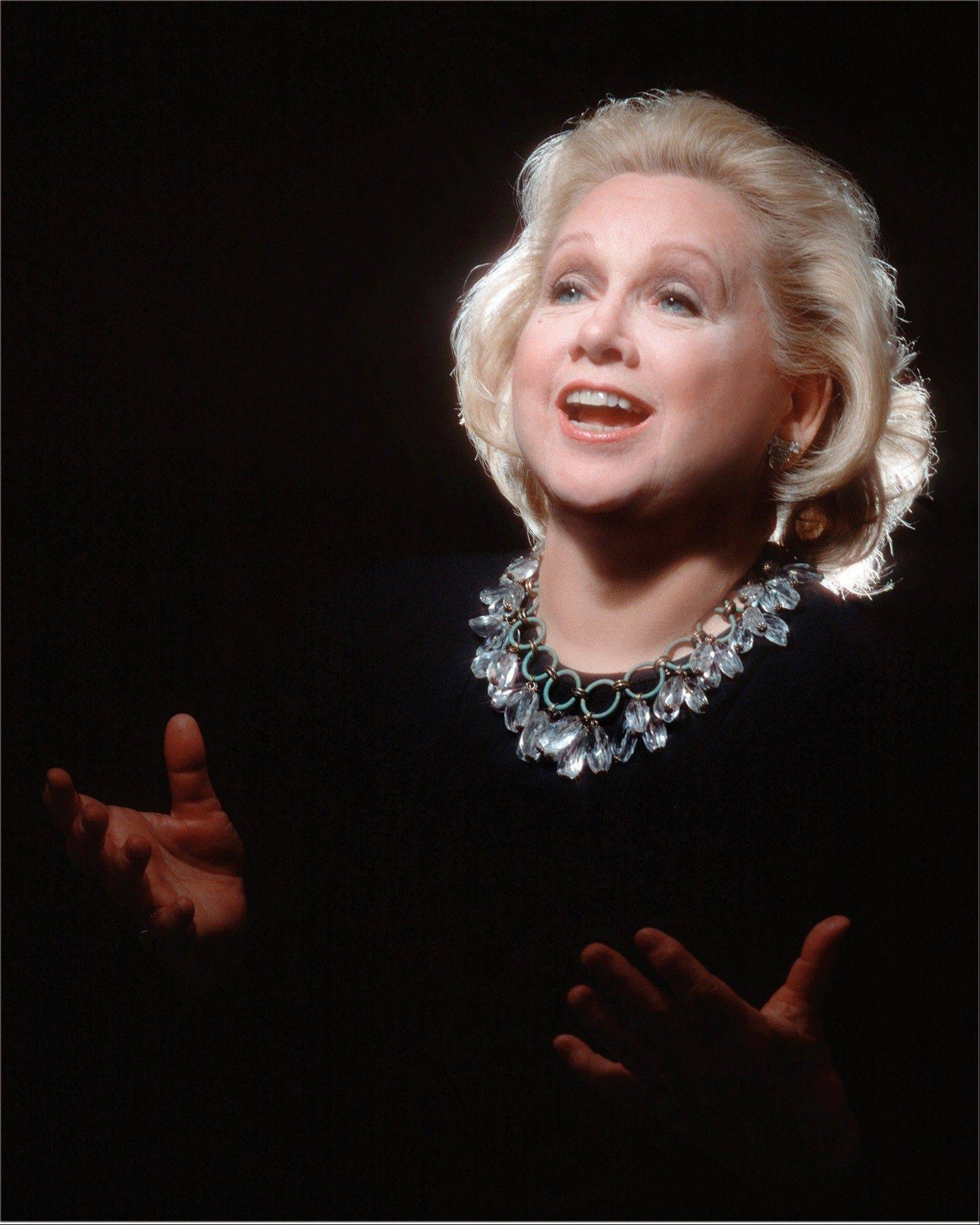 Barbara Cook performs with the Chicago Symphony Orchestra at the Ravinia Festival in Highland Park on Sunday, July 15.