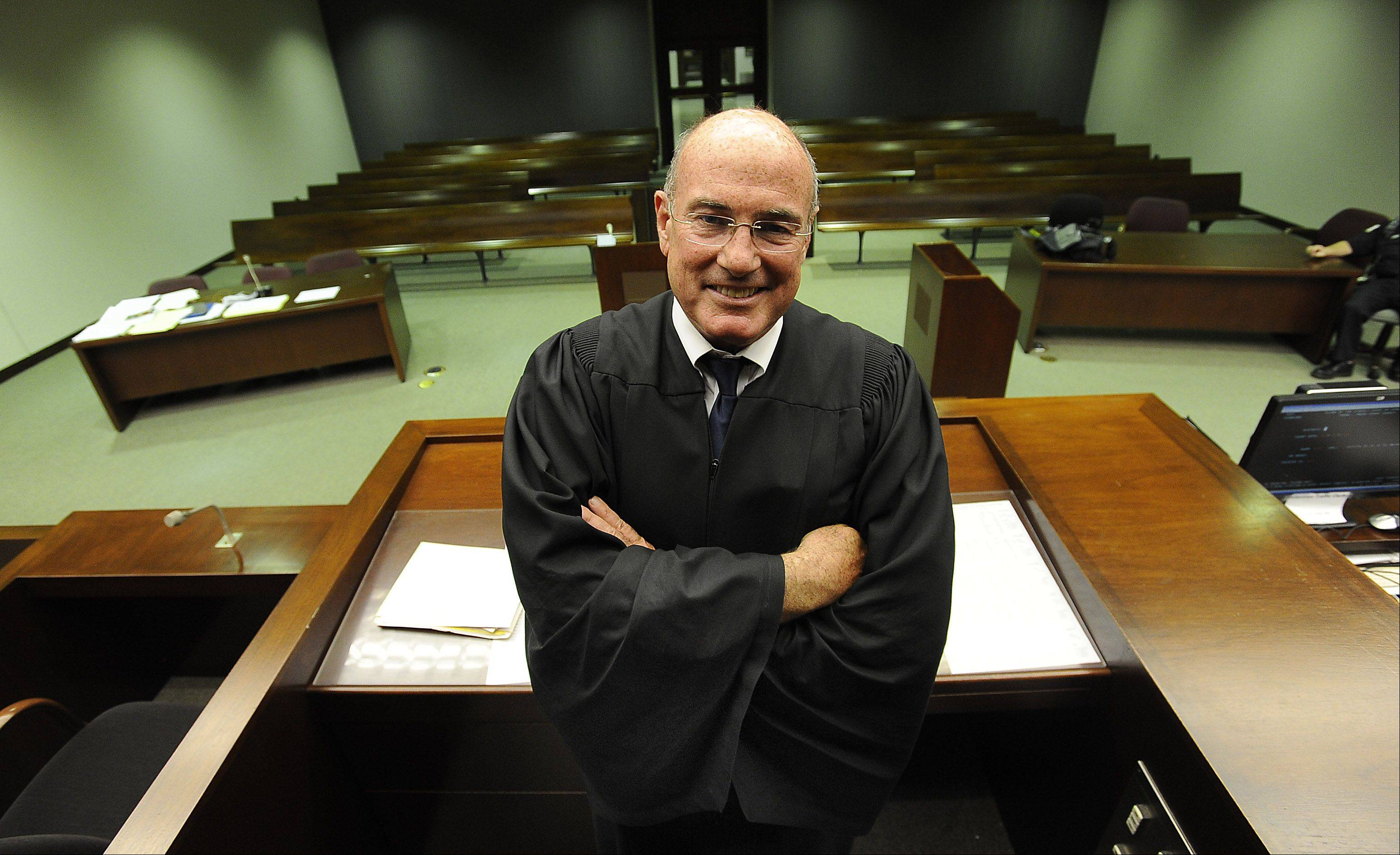 Elegant Associate Cook County Judge James P. Etchingham Retired Monday After Nearly  18 Years On The