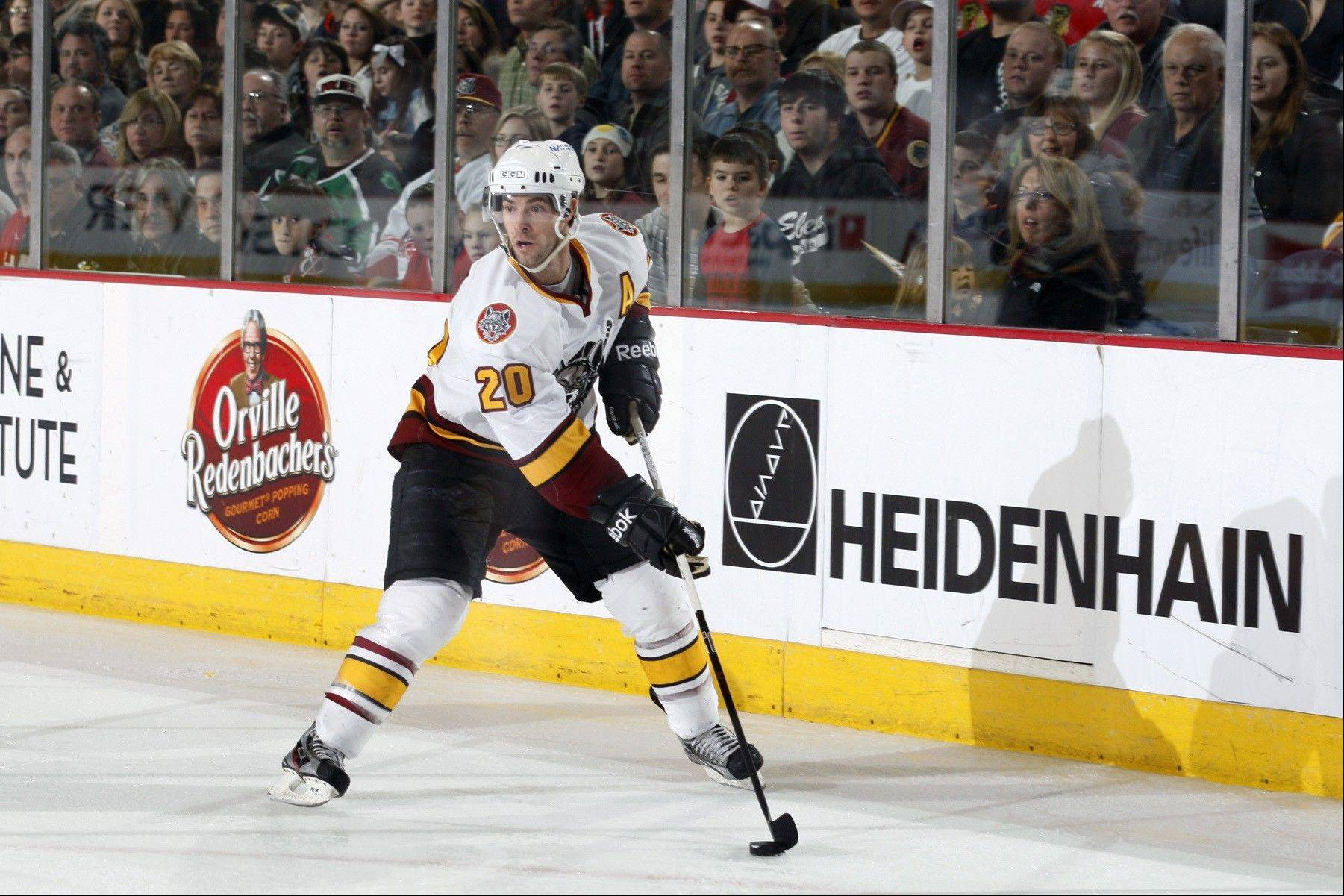 Forward Darren Haydar has been re-signed by the Chicago Wolves for the 2012-13 season. Haydar has scored 50 or more points in each of his 10 seasons as a pro.