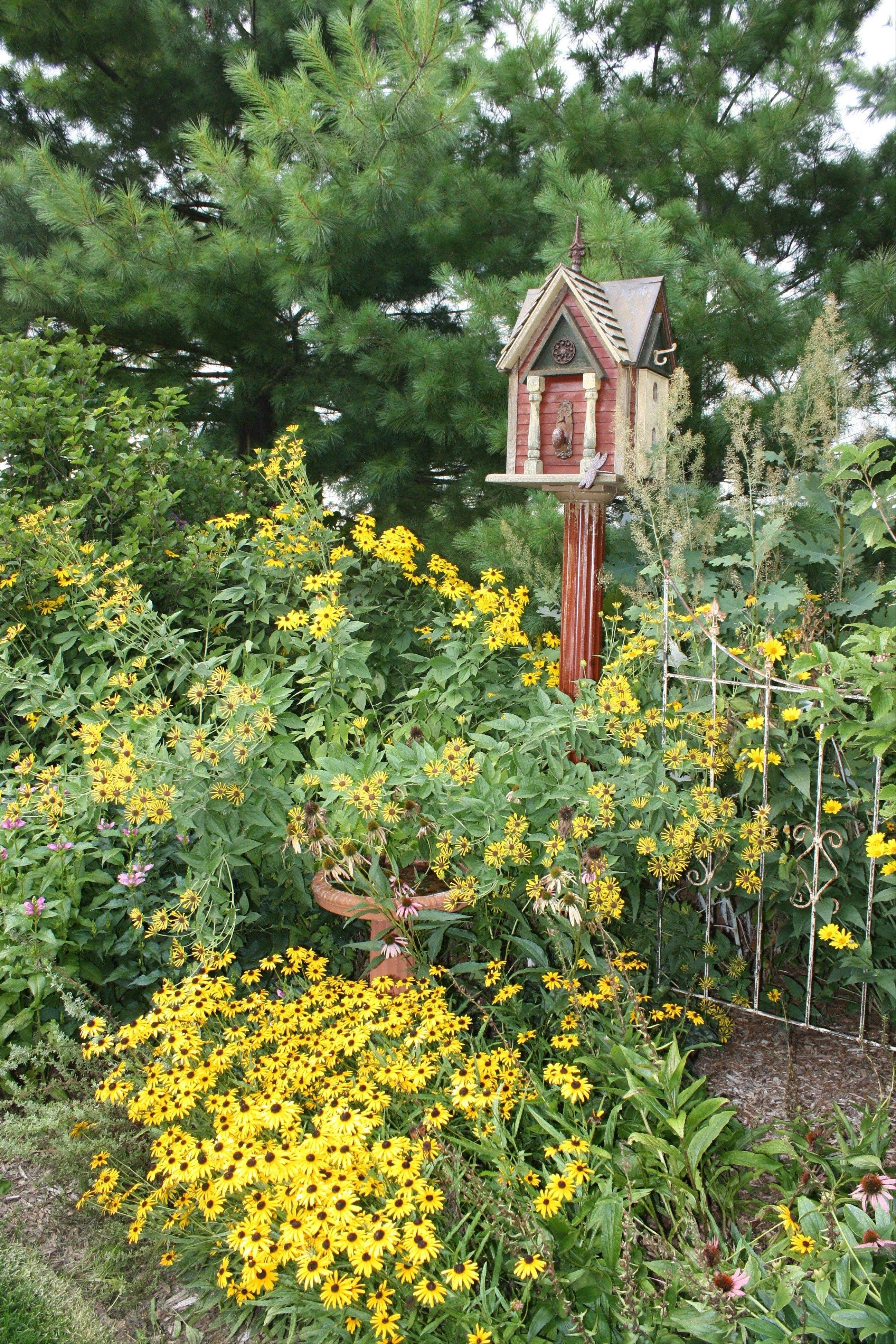Five St. Charles gardens will be open to the public Saturday, July 14, when the Pottatatomie Garden Club of St. Charles holds its biennial garden walk.