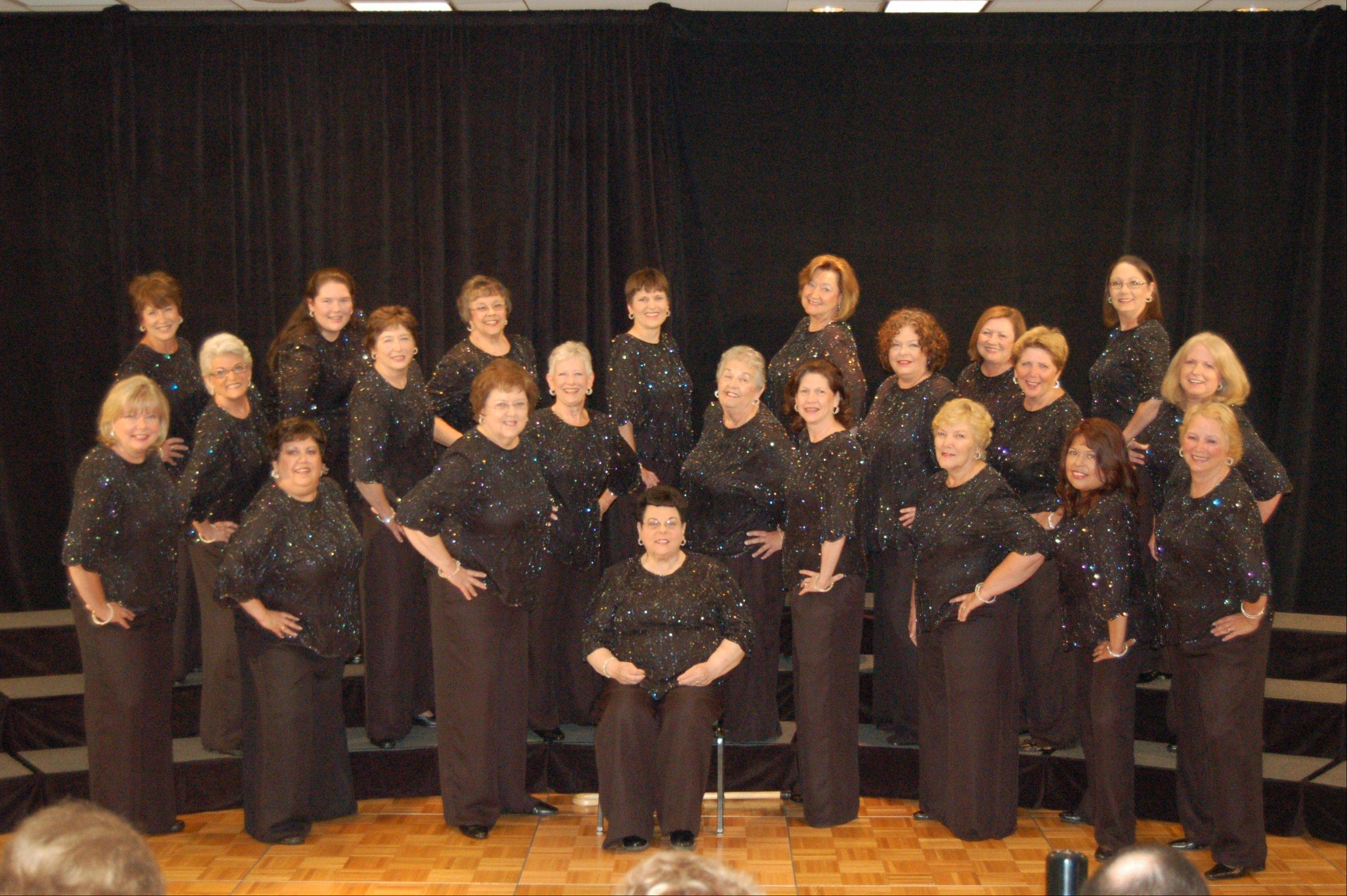 Misty River Music Makers, a women's singing group, recently brought home a first-place award from a local competition.