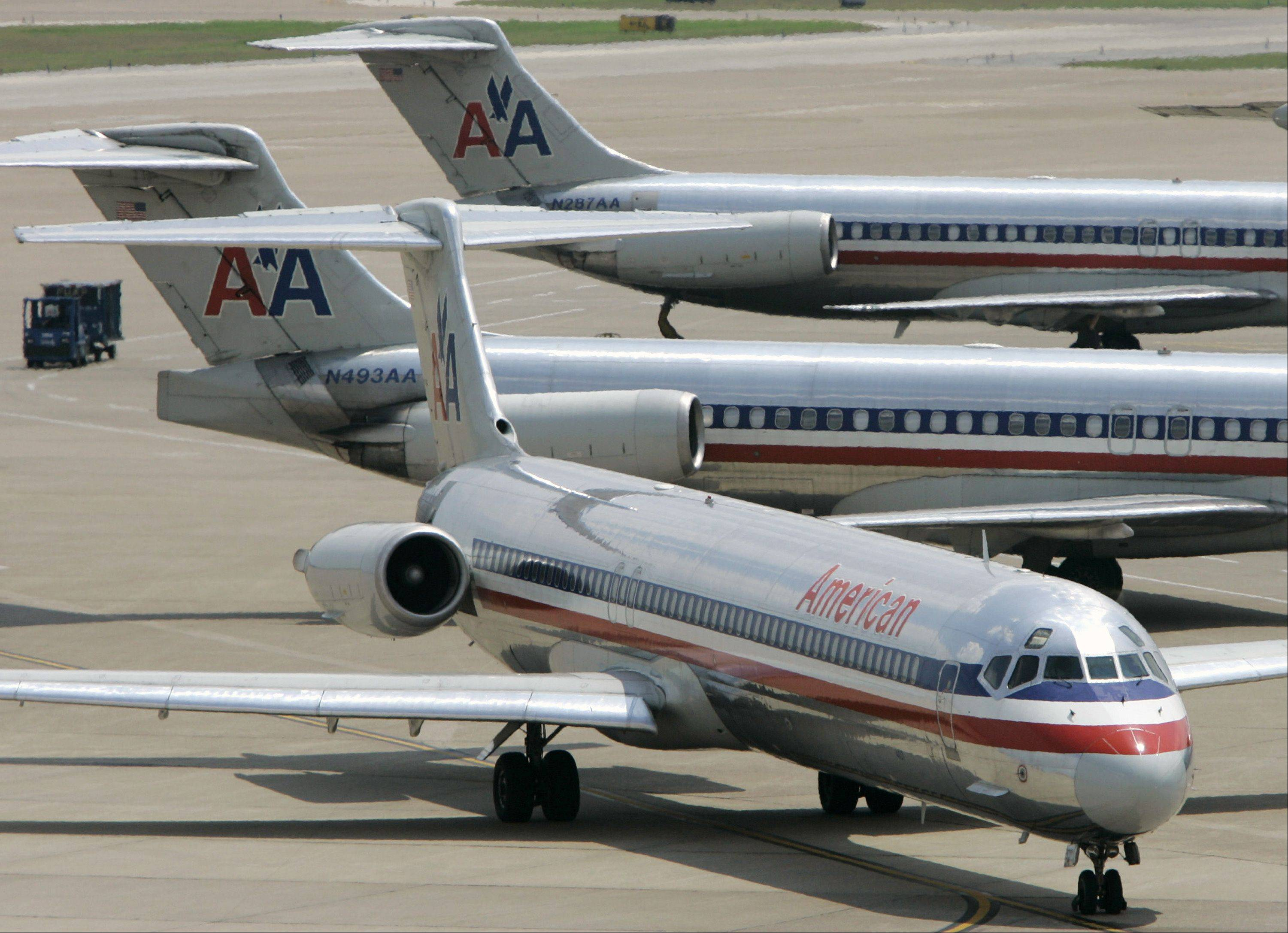 The head of American Airlines says his company has done so much to fix its problems that it can consider potential mergers, and invitations will be going out soon.