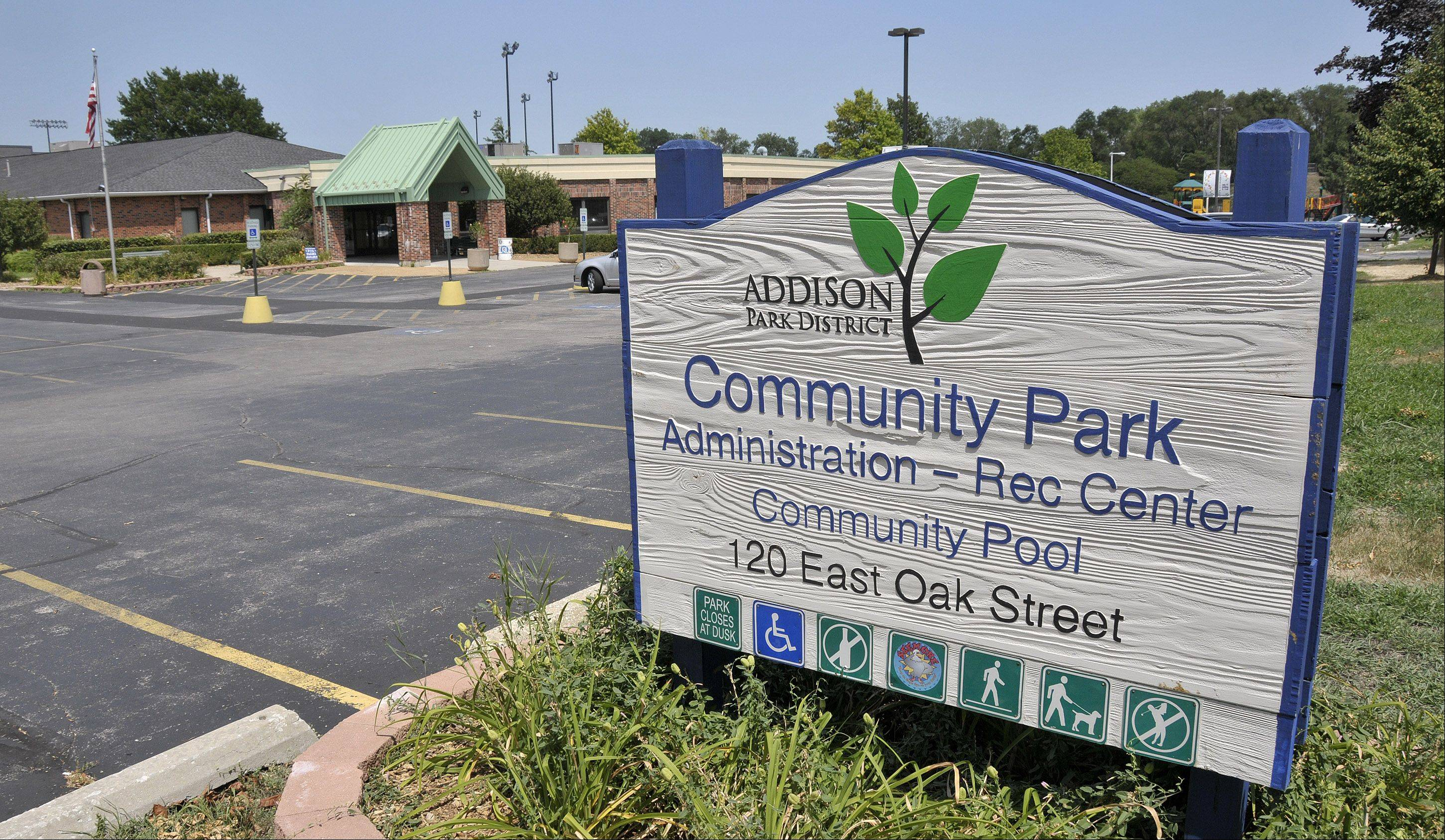 Addison Park District is in the midst of a multiyear $1.7 million plant to improve Community Park.