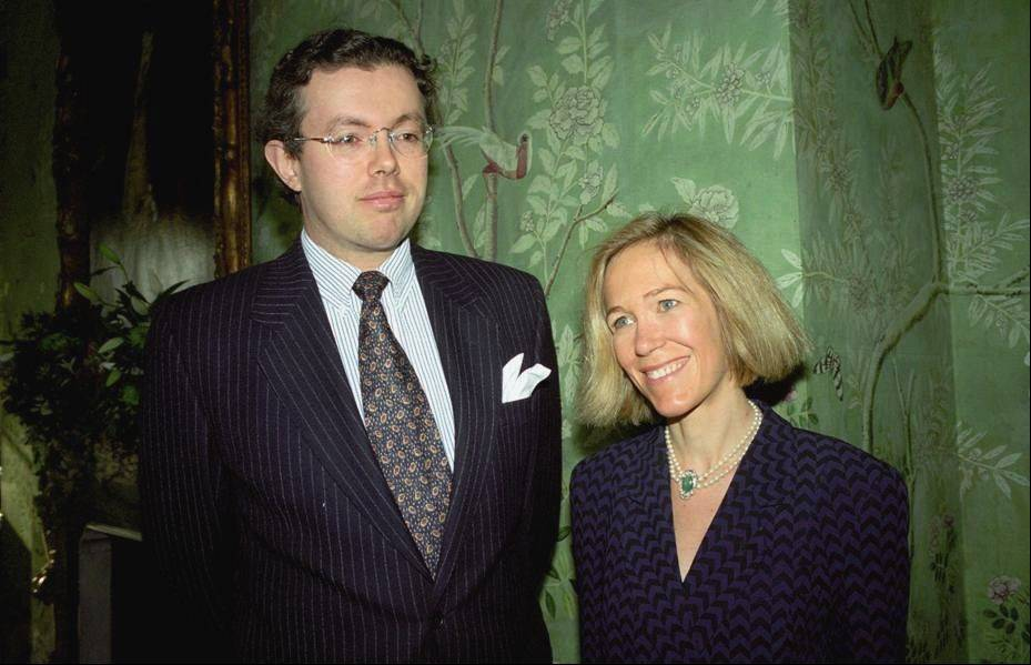 Eva Rausing, right, and her husband Hans Kristian Rausing in 1996. One of Britain's richest women, American-born Eva Rausing, was found dead in her west London home and a man was arrested in connection with the case, British police say, adding that an autopsy had failed to uncover a formal cause of death. Rausing, 48, was the wife of Hans Kristian Rausing, heir to the TetraPak fortune his father built by creating a successful manufacturer of laminated cardboard drink containers.