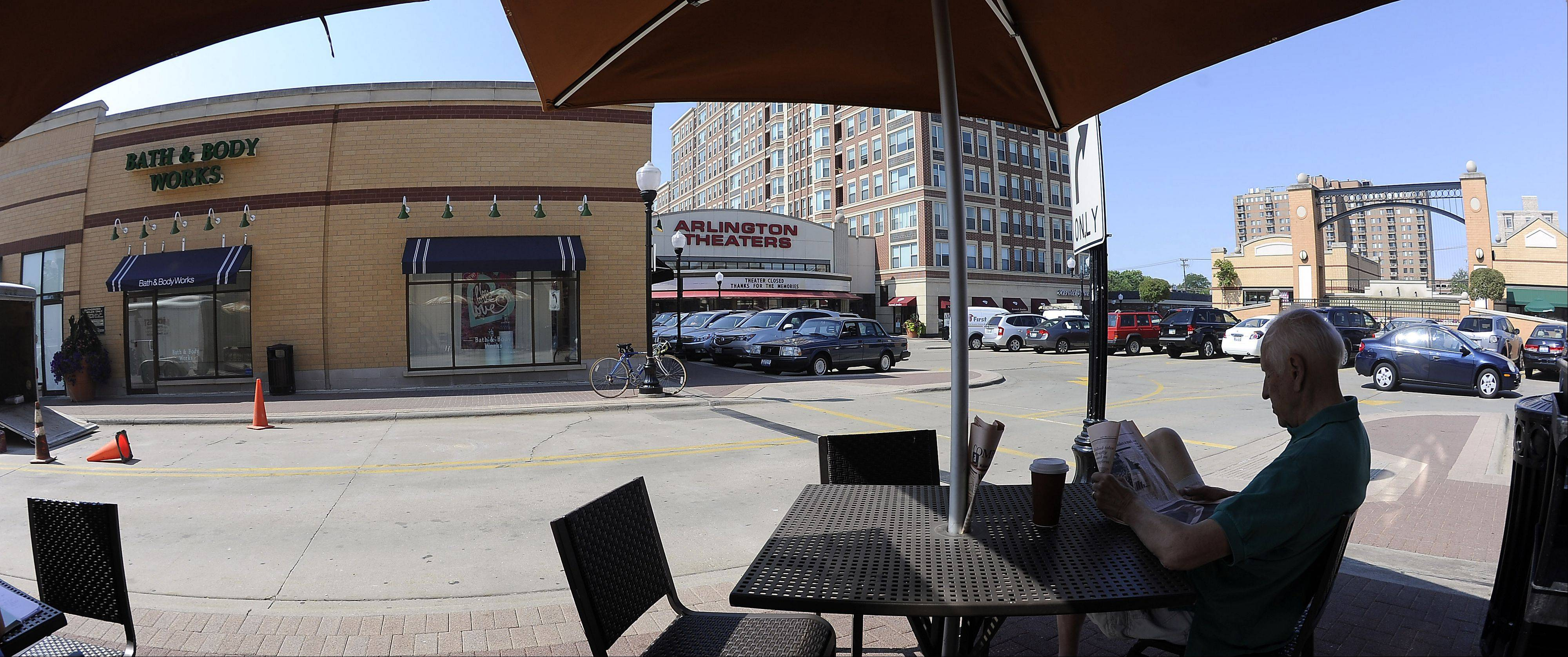 Arlington Heights officials are eager to get movies showing again downtown.