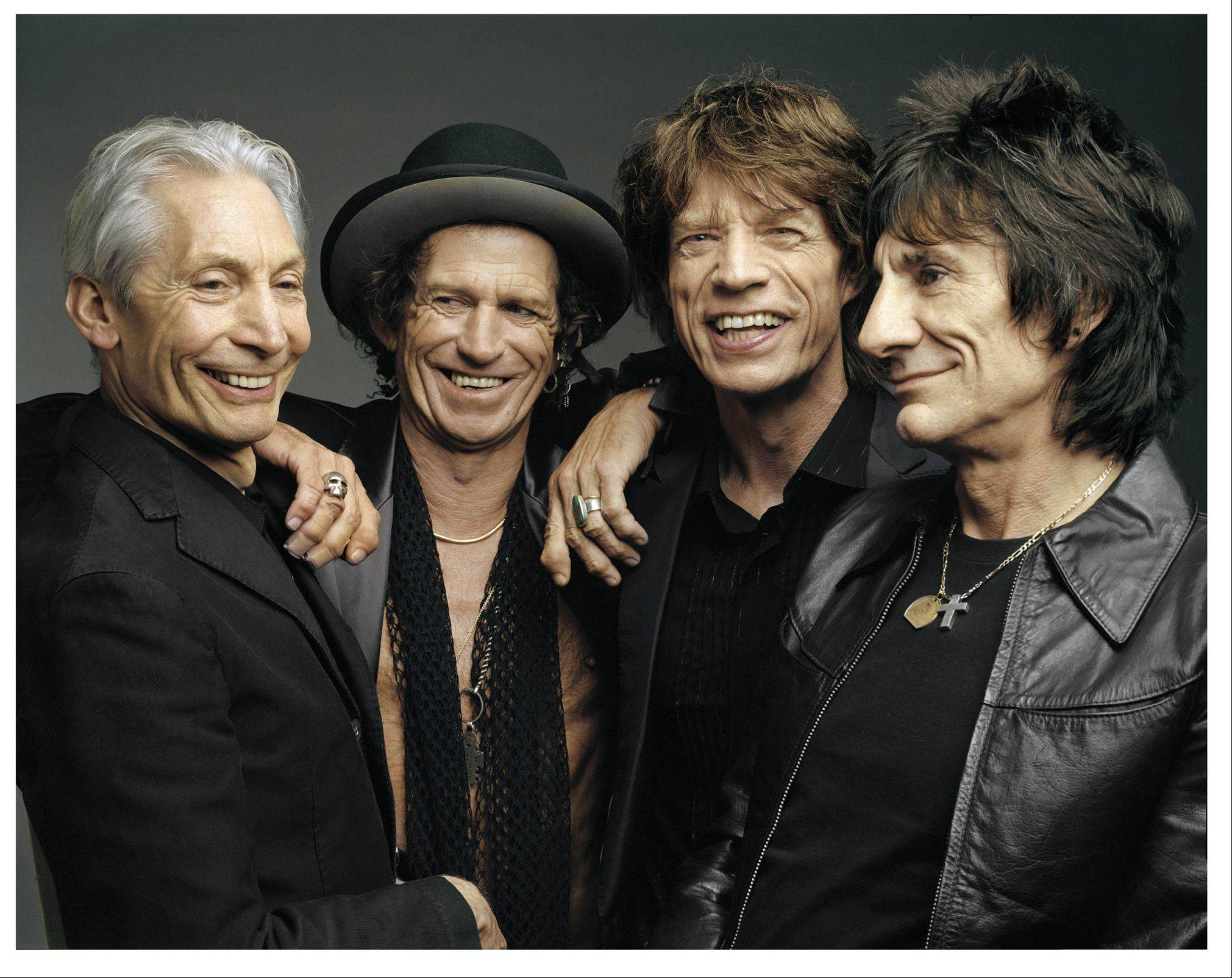 The Rolling Stones, seen here in 2005, will mark the band's 50th anniversary next year.