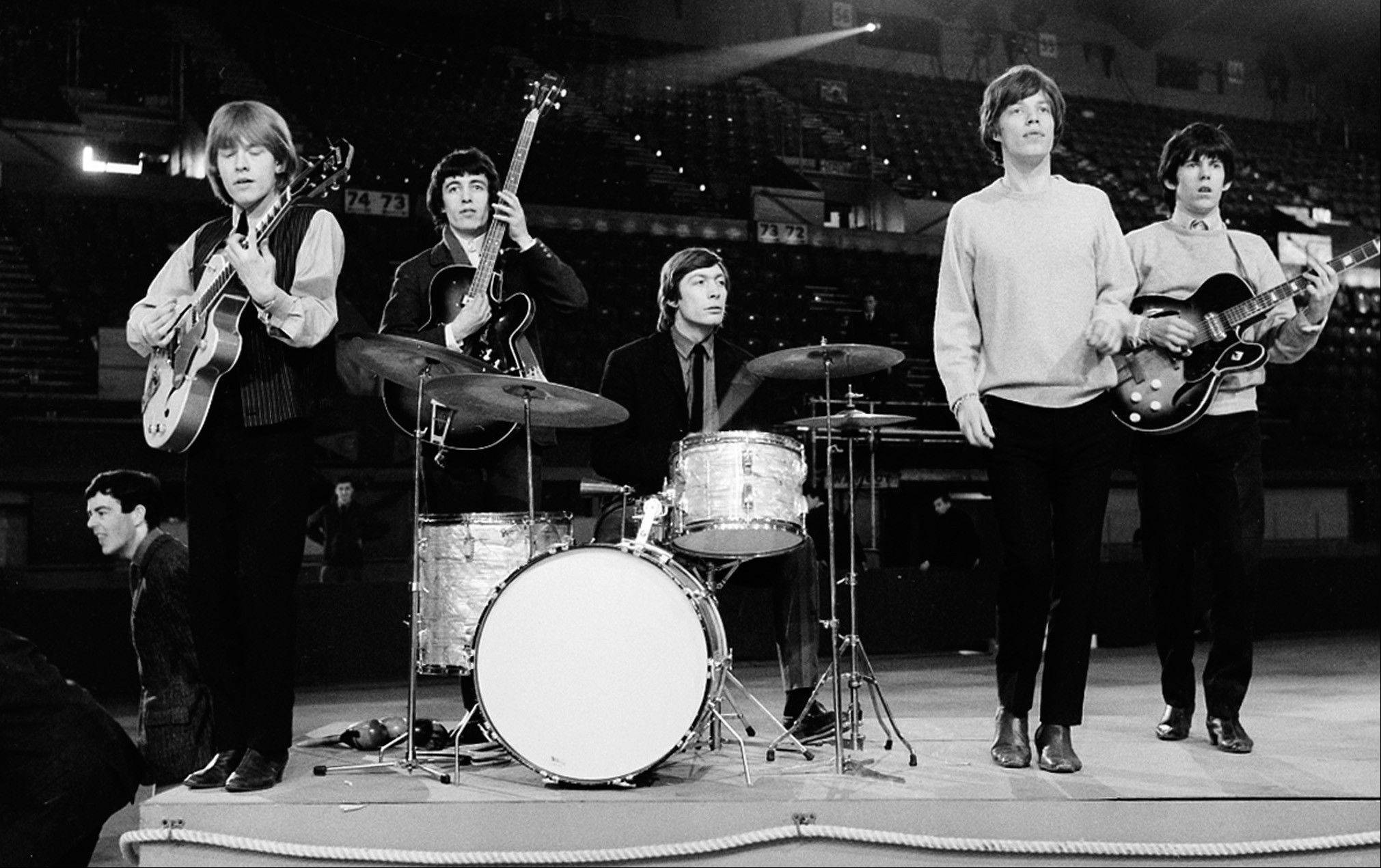 The Rolling Stones, seen here in 1964, have been together for almost 50 years.