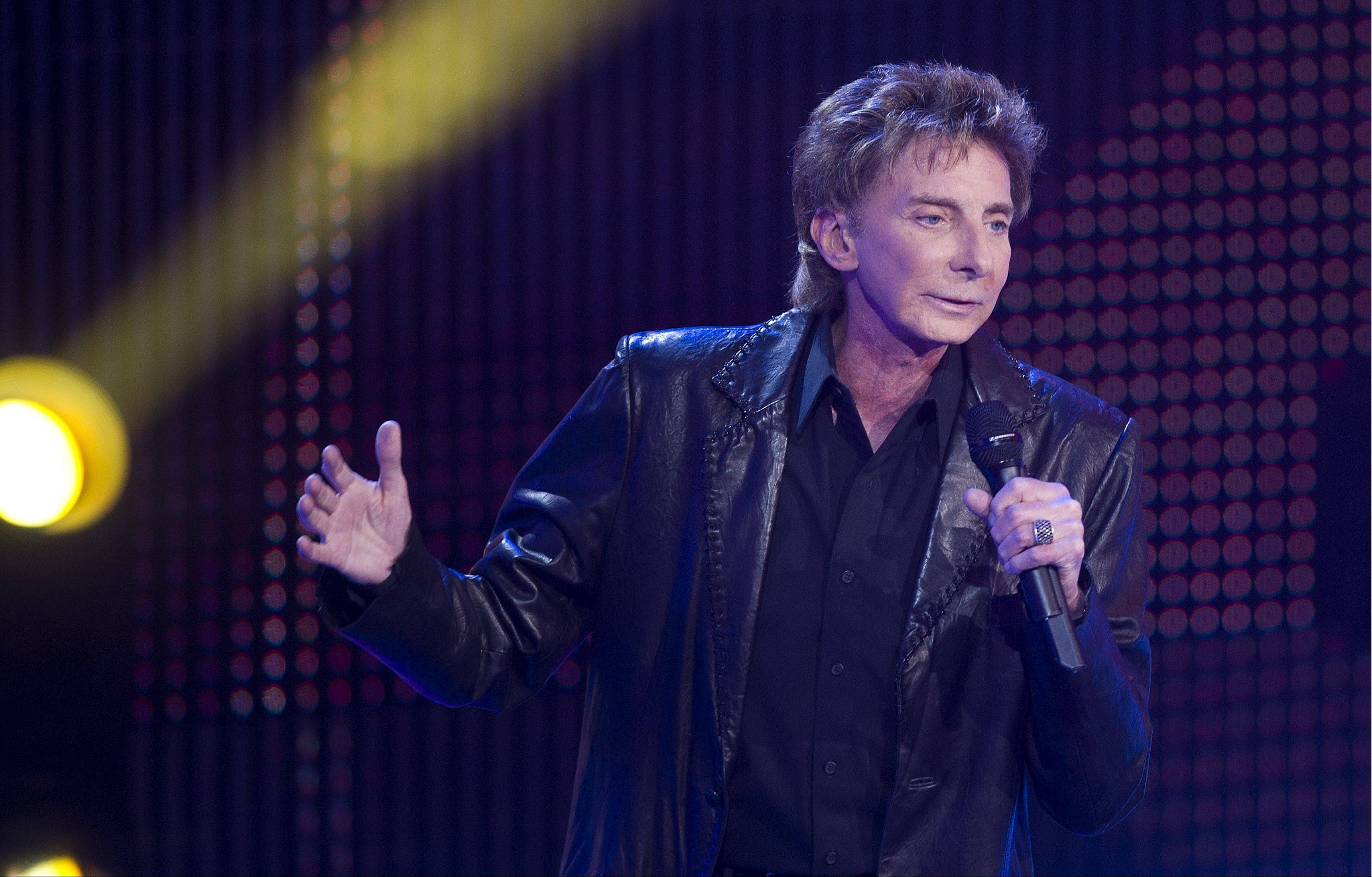 Barry Manilow headlines the Chicago Theatre for three shows starting Thursday, July 12.