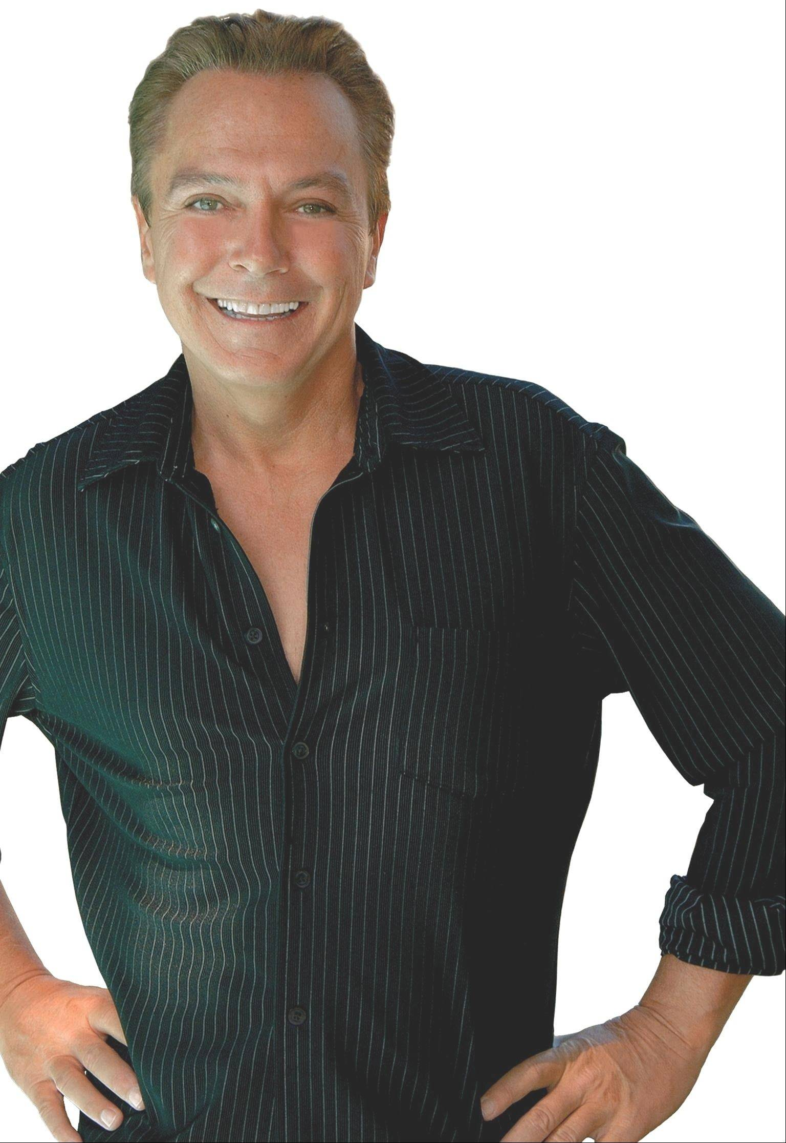Singer David Cassidy headlines at 9:30 p.m. Saturday, July 14, at the annual Des Plaines Summer Fling festival.