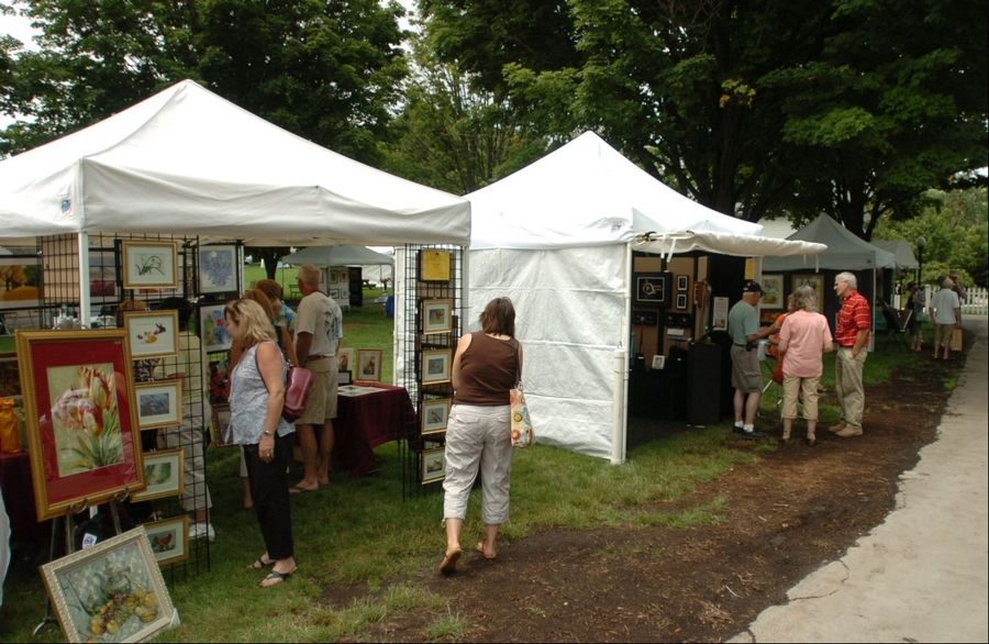 The annual Fine Arts Fair fits in with the mission of the Naperville Woman's Club, which was started by a group of women who wanted to promote knowledge and culture in the community, said Roxanne Lang, art fair director and special events coordinator.