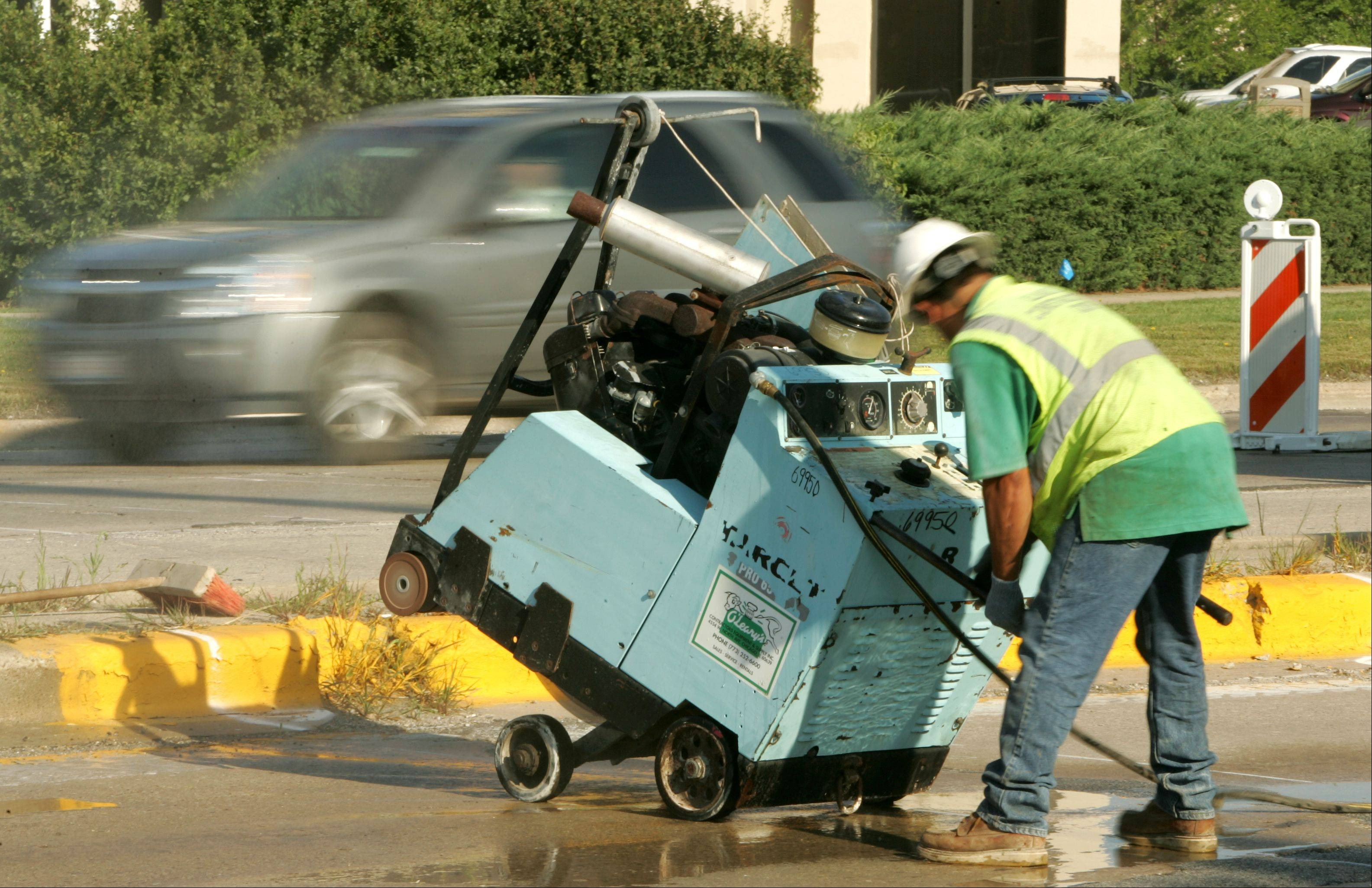 Mount Prospect has fallen about 10.7 miles behind on its street resurfacing program, and it's only expected to get worse next year. The lag has some village officials concerned they may eventually be forced to spend more money to reconstruct roads that have been let go for too long.