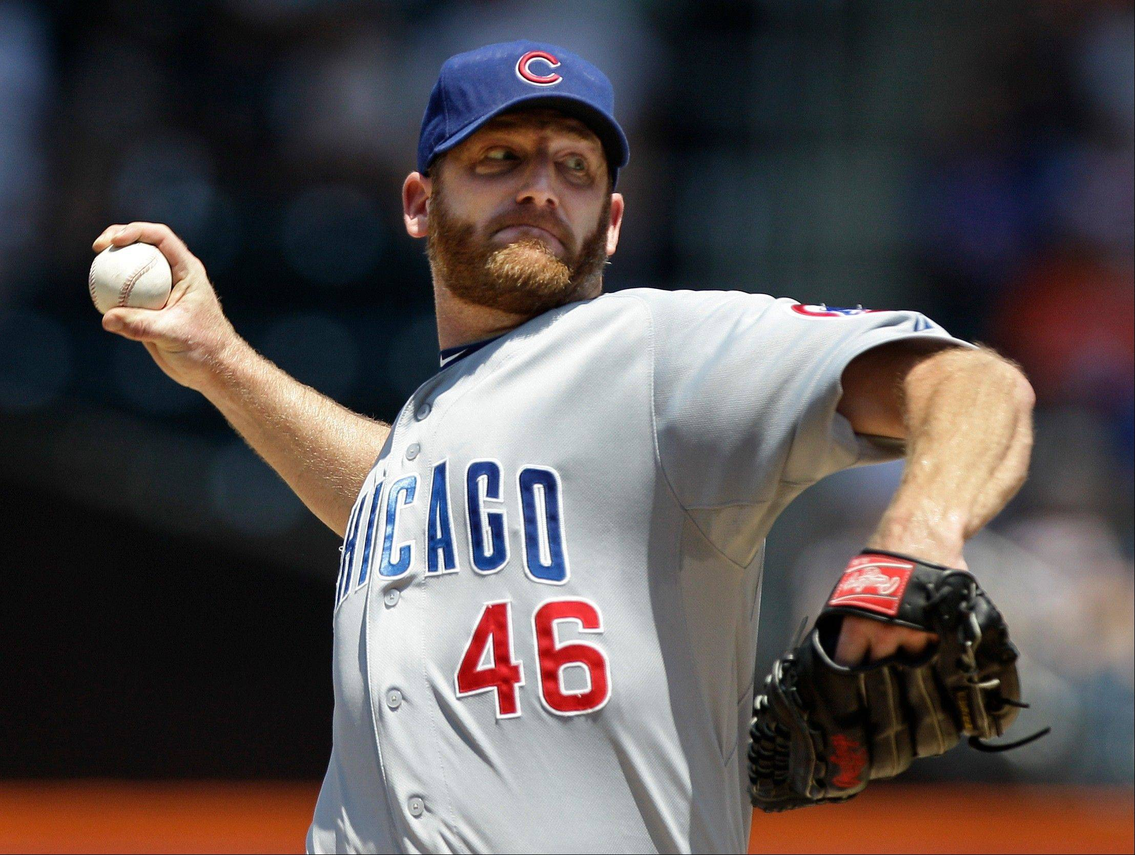 With trade talk heating up, could Ryan Dempster be making his last start for the Cubs when he faces the Diamondbacks on Saturday?
