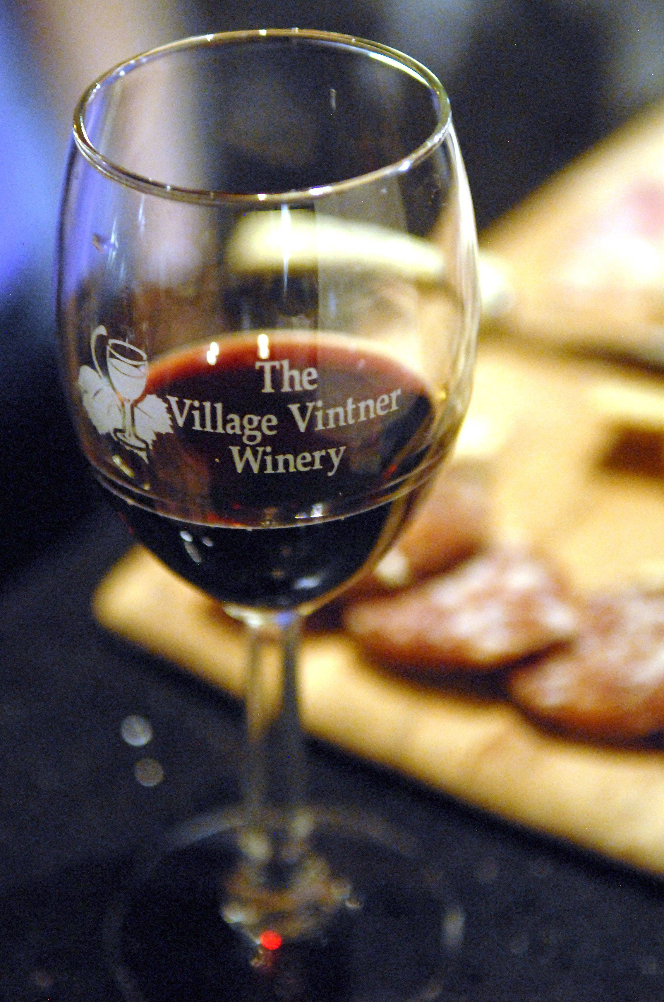 Village Vitner in Algonquin is a winery, brewery and restaurant.