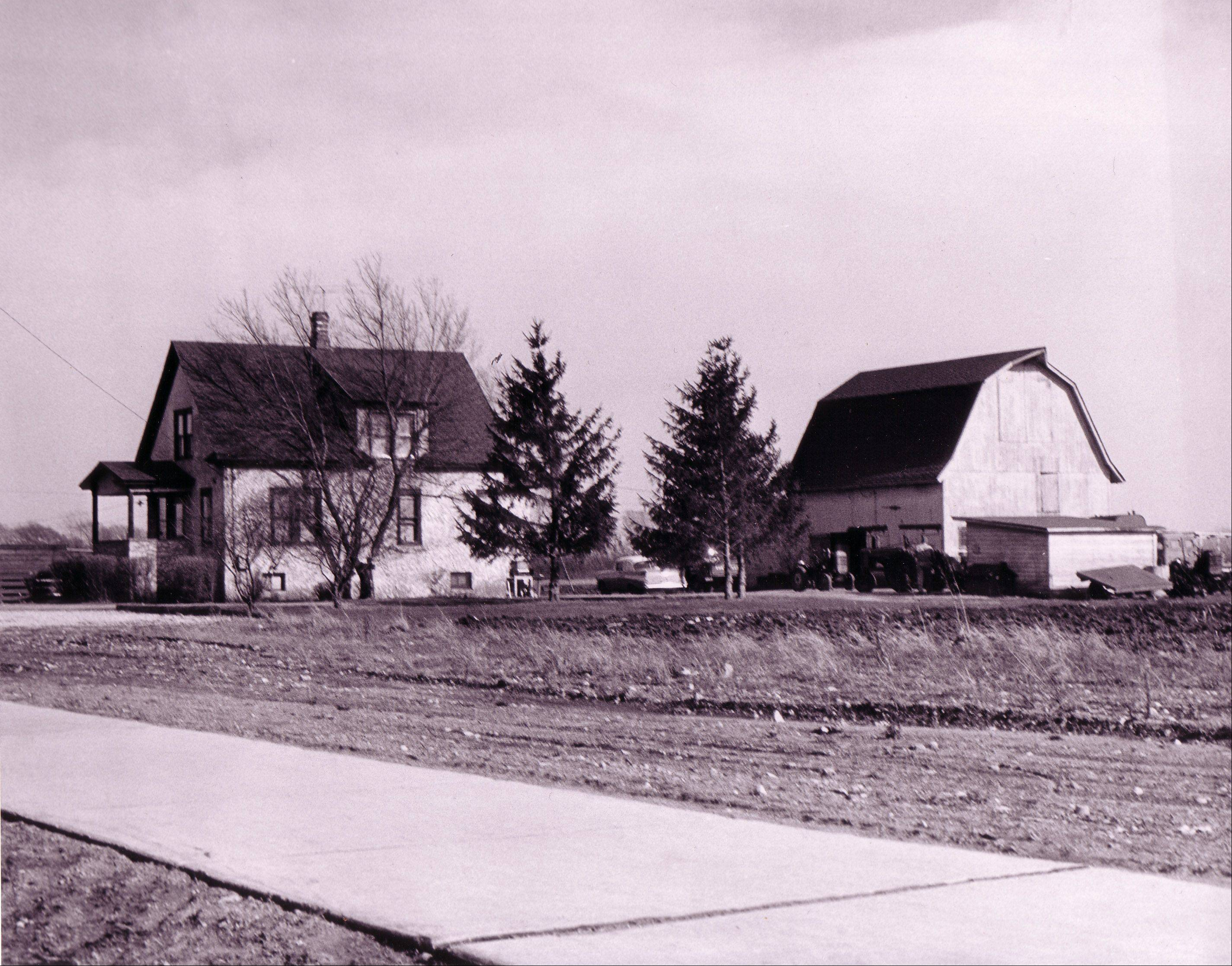 The old Koeppen Farm, now the site of Wheeling Village Hall, and much more.
