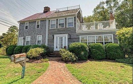 This clapboard-sided house, built in 1786 in Lewes, Del., is listed for $995,000.