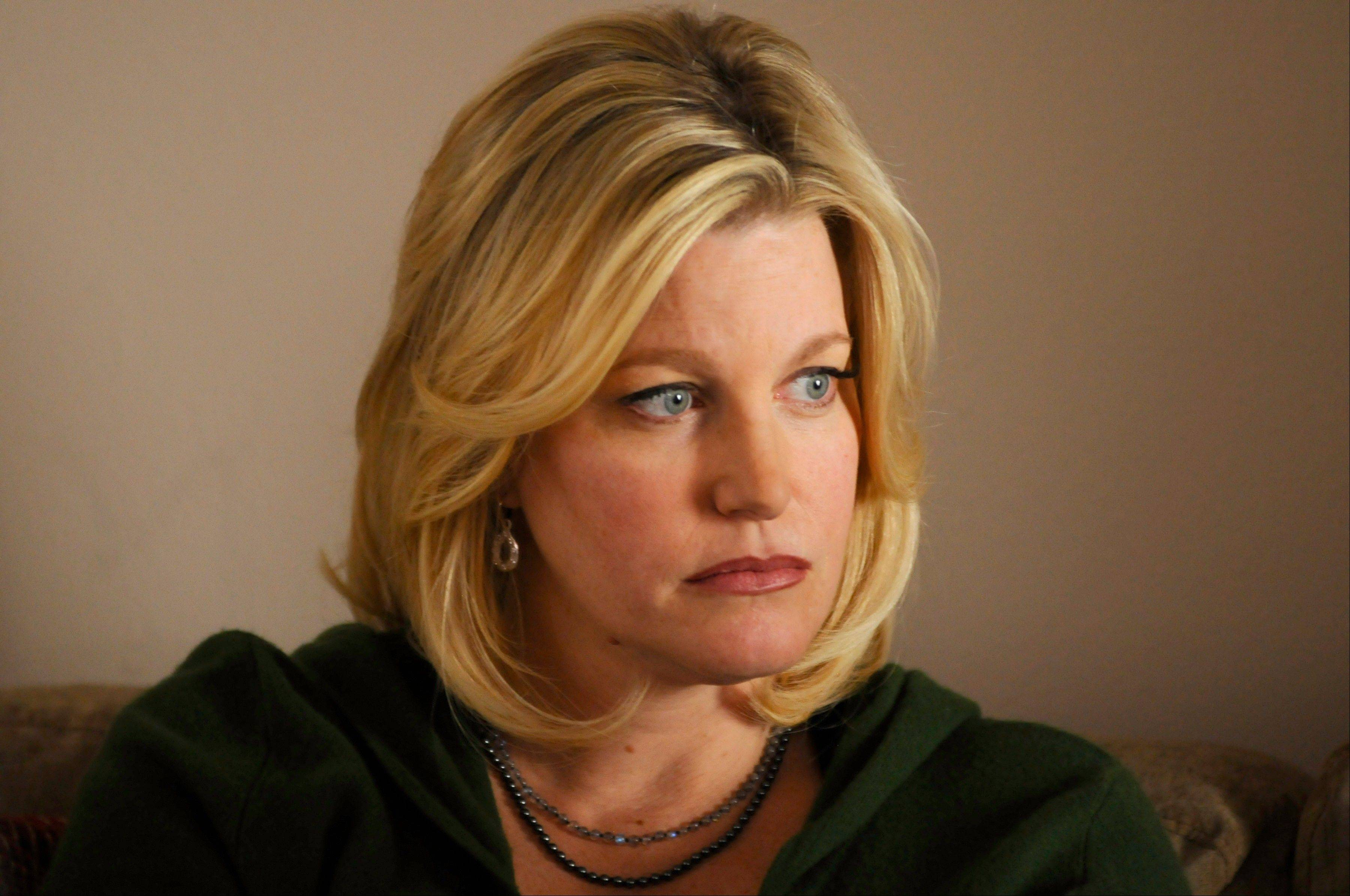 "Skyler White (Anna Gunn) is trapped by her husband's decisions, as well as her own, in AMC's ""Breaking Bad."" Gunn co-stars with Bryan Cranston, right, and Aaron Paul. The show returns for its fifth season Sunday, July 15."
