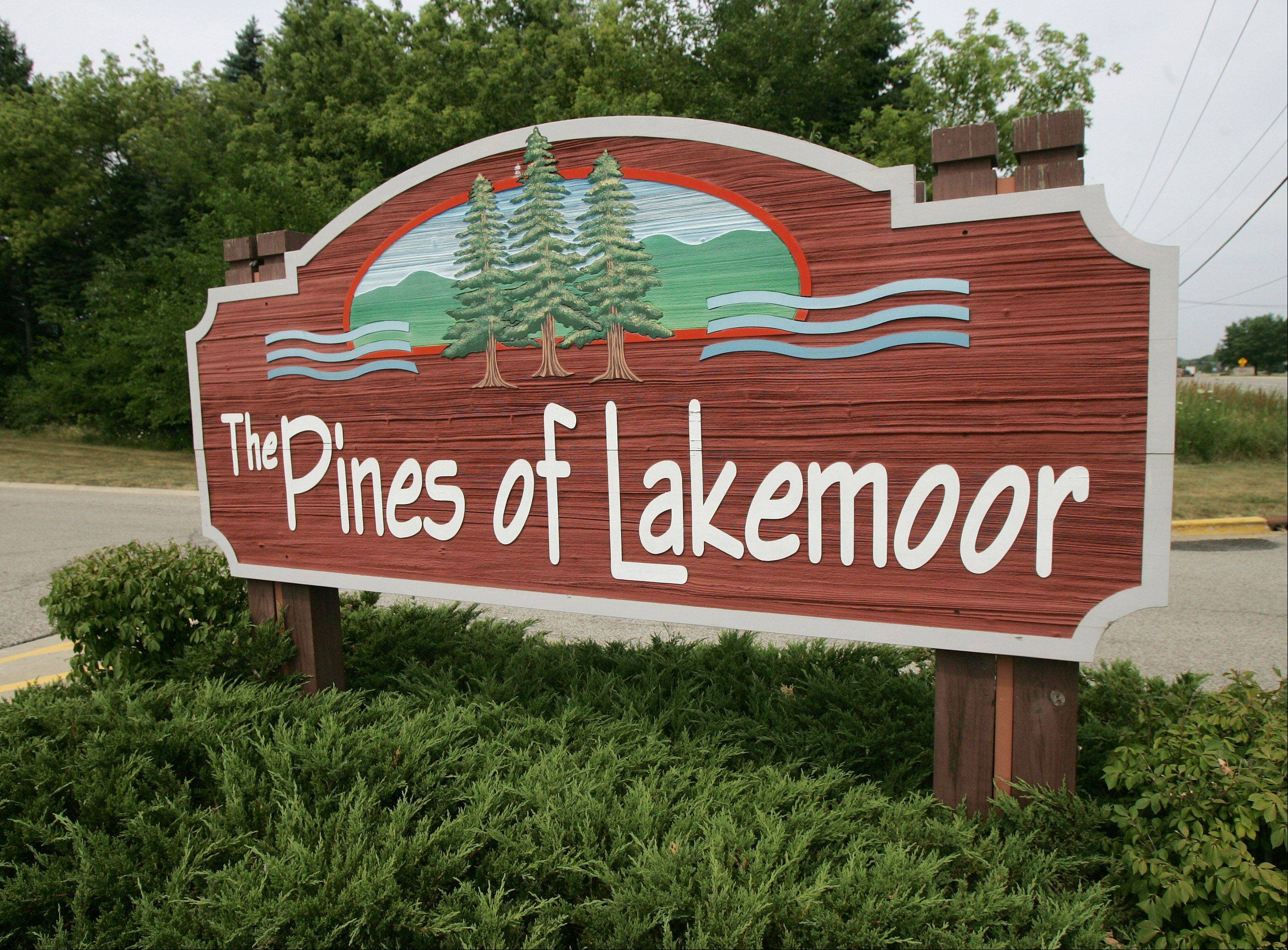 About 130 single-family homes and 142 condominiums make of the The Pines of Lakemoor neighborhood.