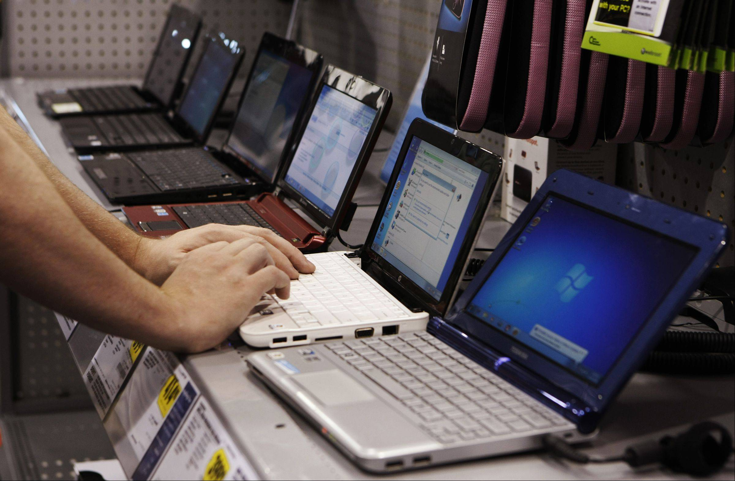 Consumers and businesses have been buying fewer PCs during the past two years amid the growing popularity of smartphones and tablet computers such as Apple's iPad.