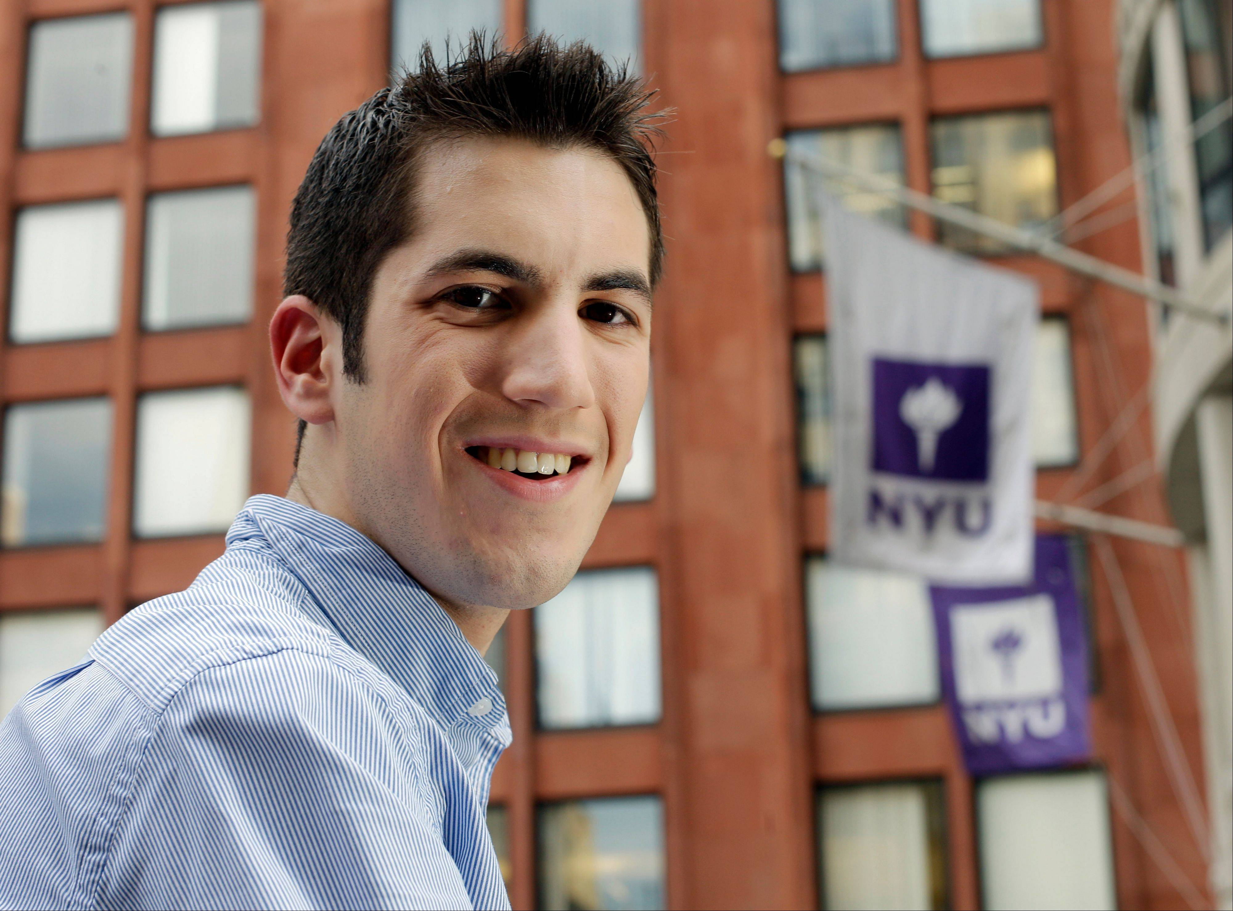 Scott Gamm, 20, a student at New York University's Stern School of Business, used his income from freelance work and blogging to obtain a Visa card and then an American Express card recently. He charges $200 or $300 on them monthly and pays every bill in full.