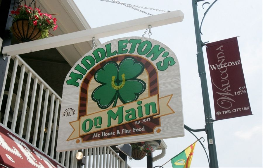 The newest addition to downtown Wauconda is Middleton's on Main, described by the owners as an Irish gastro pub.