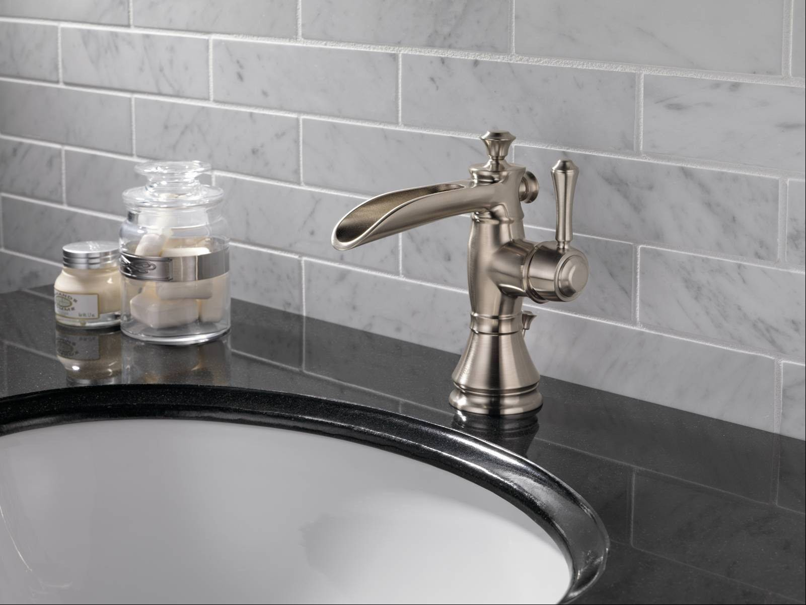 Delta's Cassidy with the open channel spout attracted attention at the recent Kitchen & Bath Industry Show.