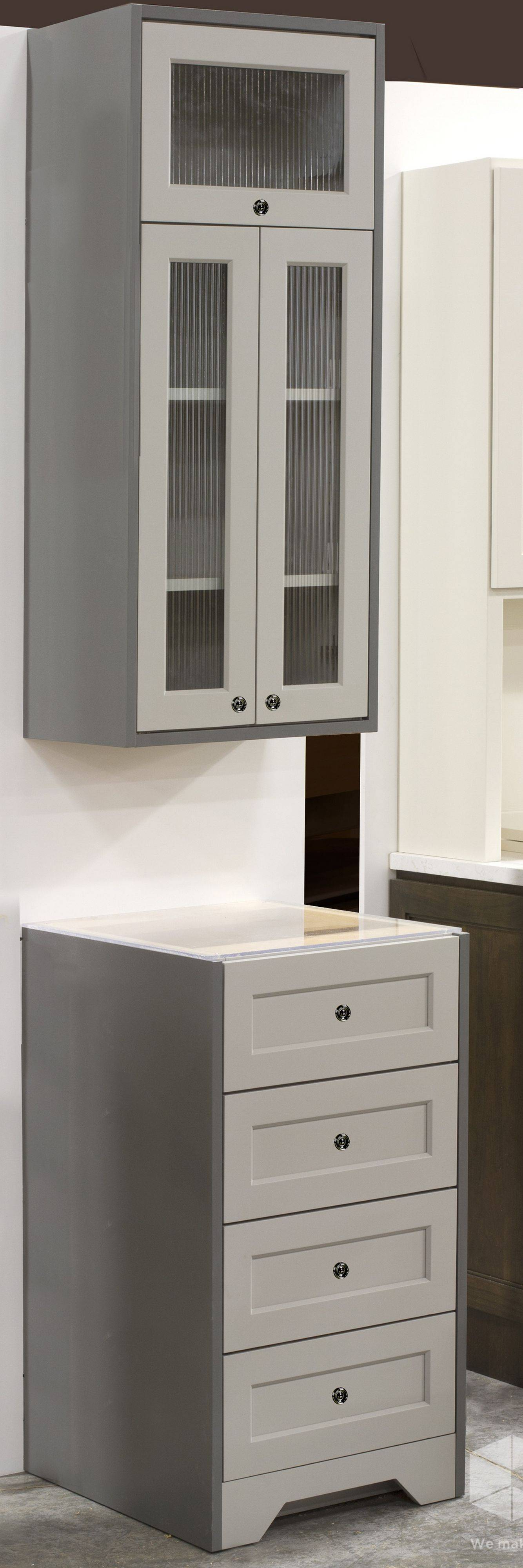 Gray is the color this year for kitchen cabinets if your style is neutral, say Roger Hazard and other designers.