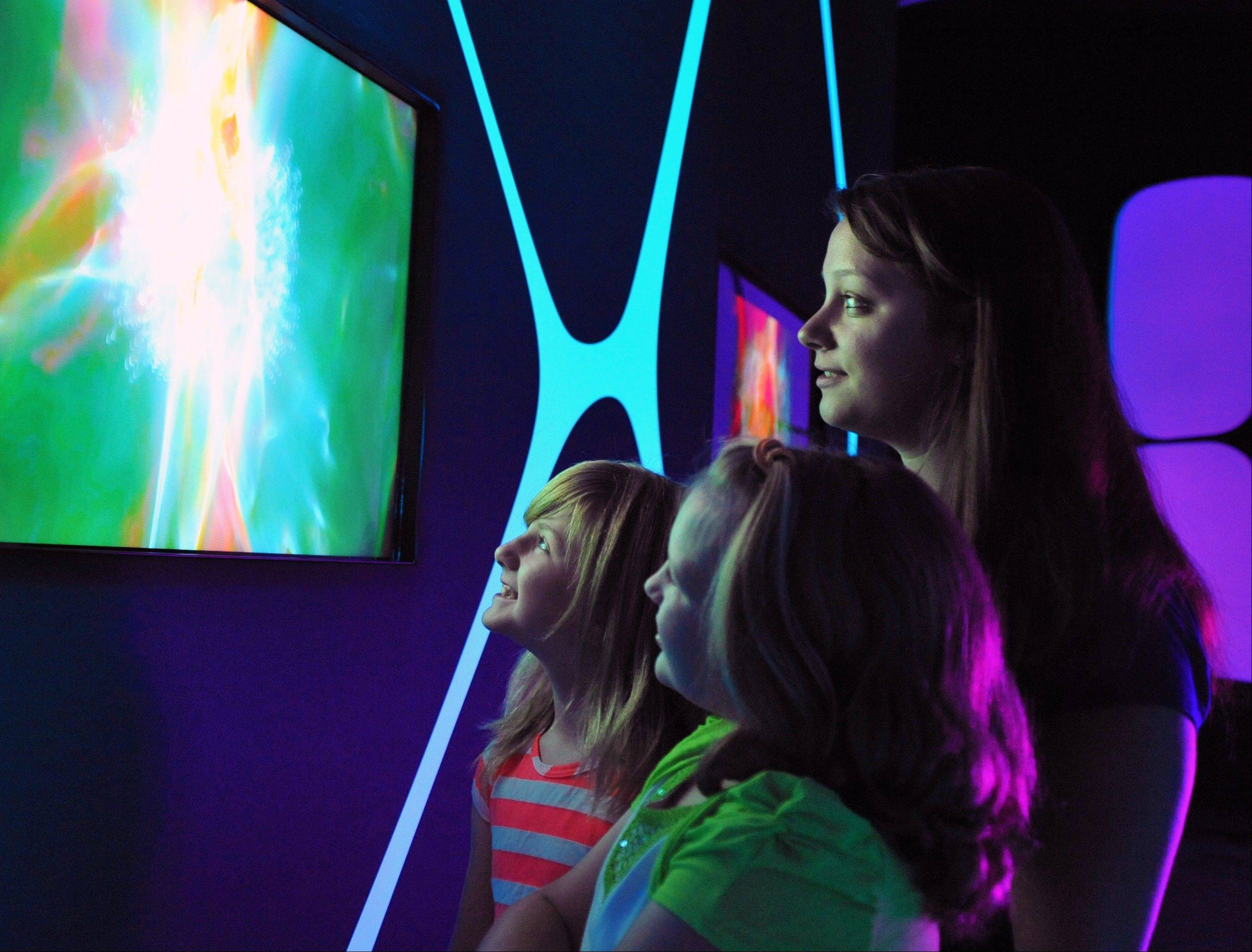 """The Universe: A Walk Through Space and Time"" gives visitors the opportunity to see the world before, during and after the Big Bang."
