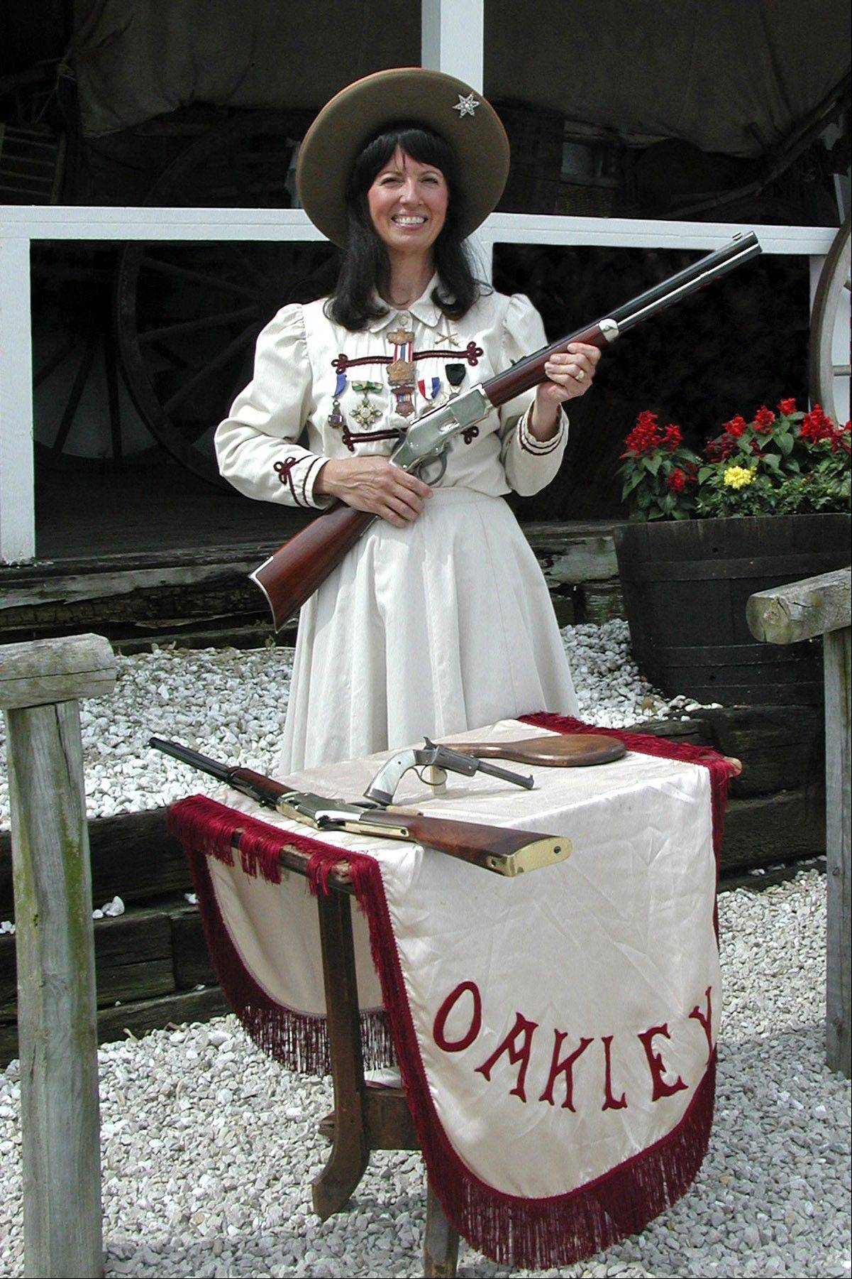 Meet Annie Oakley and learn about frontier life at Oregon Trail Days, July 21-22.