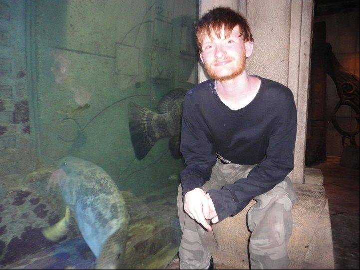 Possessed of an unquenchable thirst for information, Nick Salvi enjoys this trip to an aquarium.