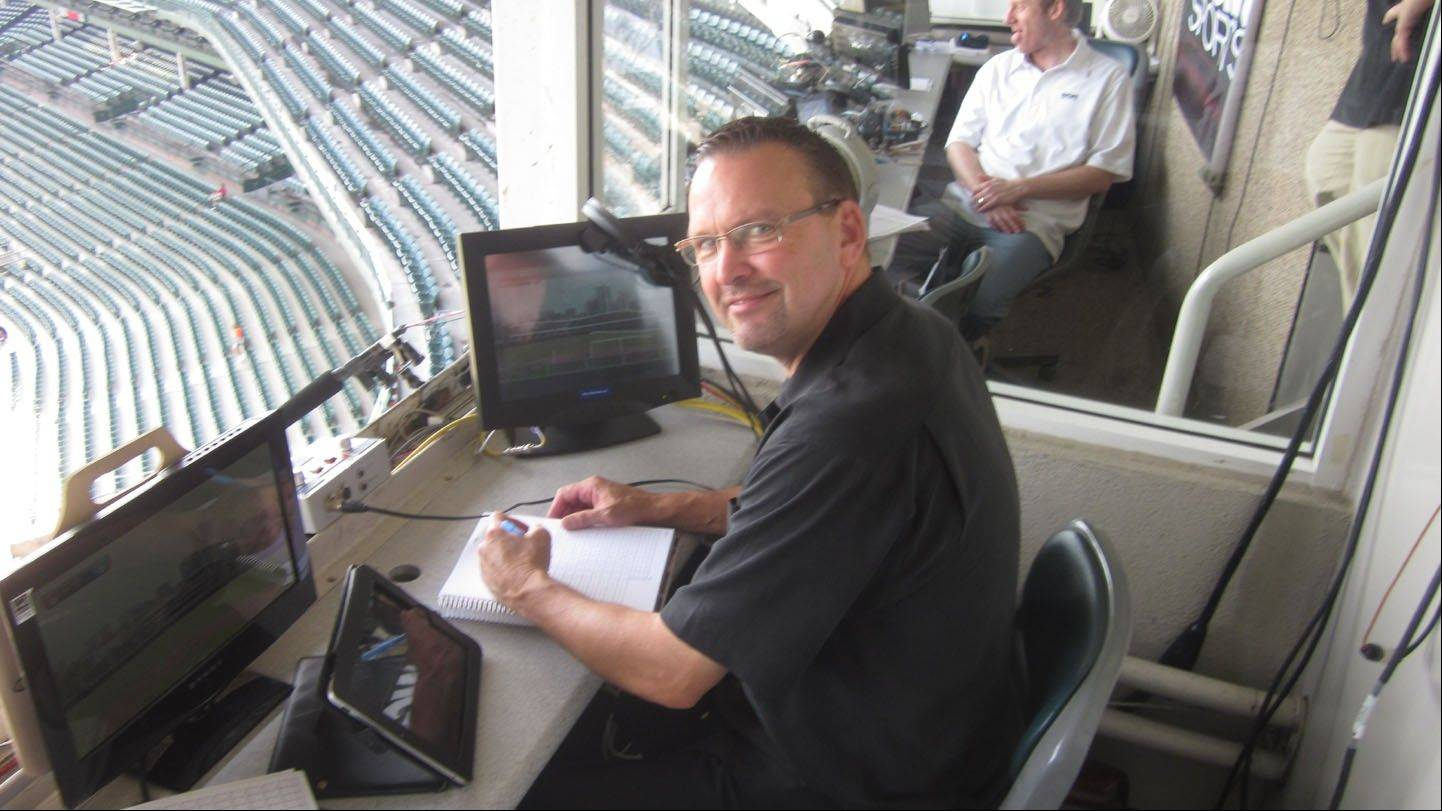 Former Cubs all-star first baseman Mark Grace keeps himself busy these days in the Arizona Diamondbacks broadcast booth.