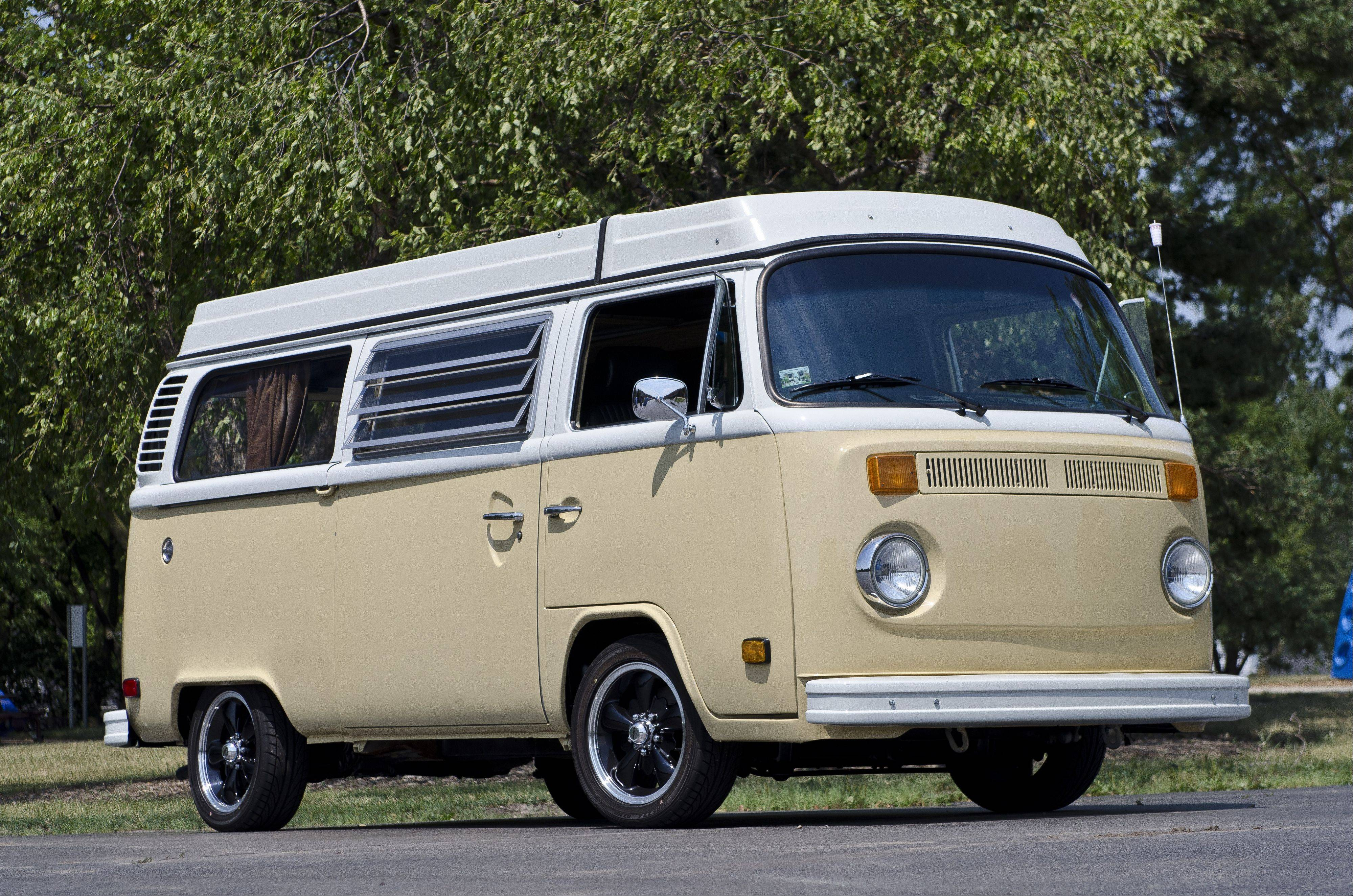 It took Jack Connelly about 10 years to fully restore this 1978 Volkswagen Bus.
