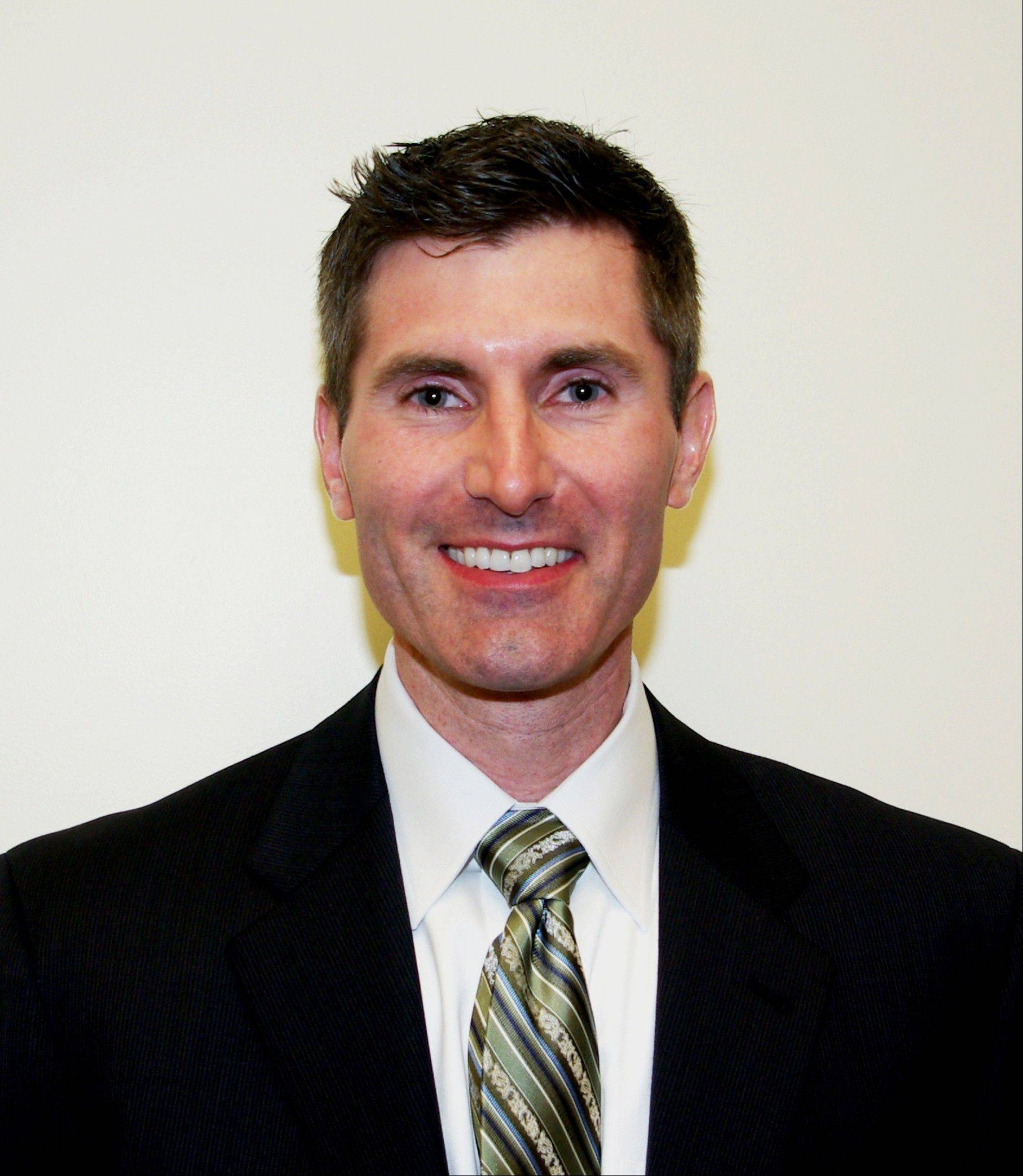 Scott Ross, new principal at Frost Junior High School