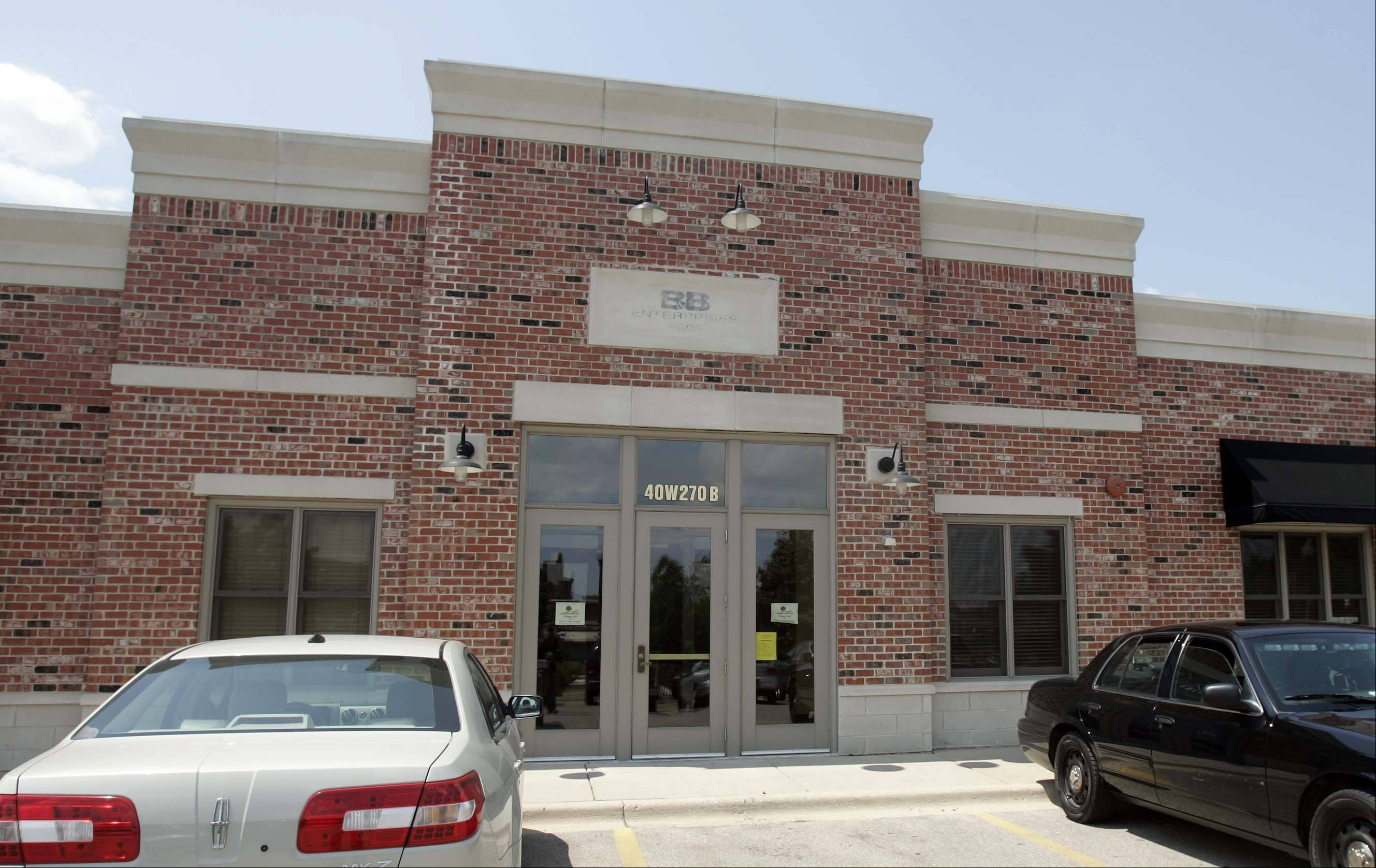 The new Campton Hills Village Hall and police department opened Tuesday at 40W270B La Fox Road.