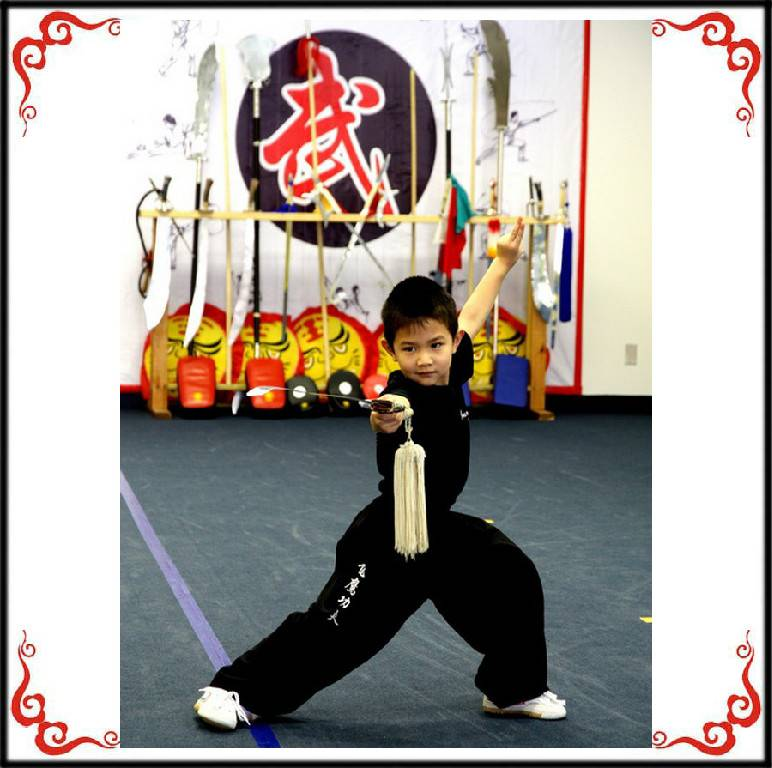 Youth program at Soaring Eagle Kung Fu School