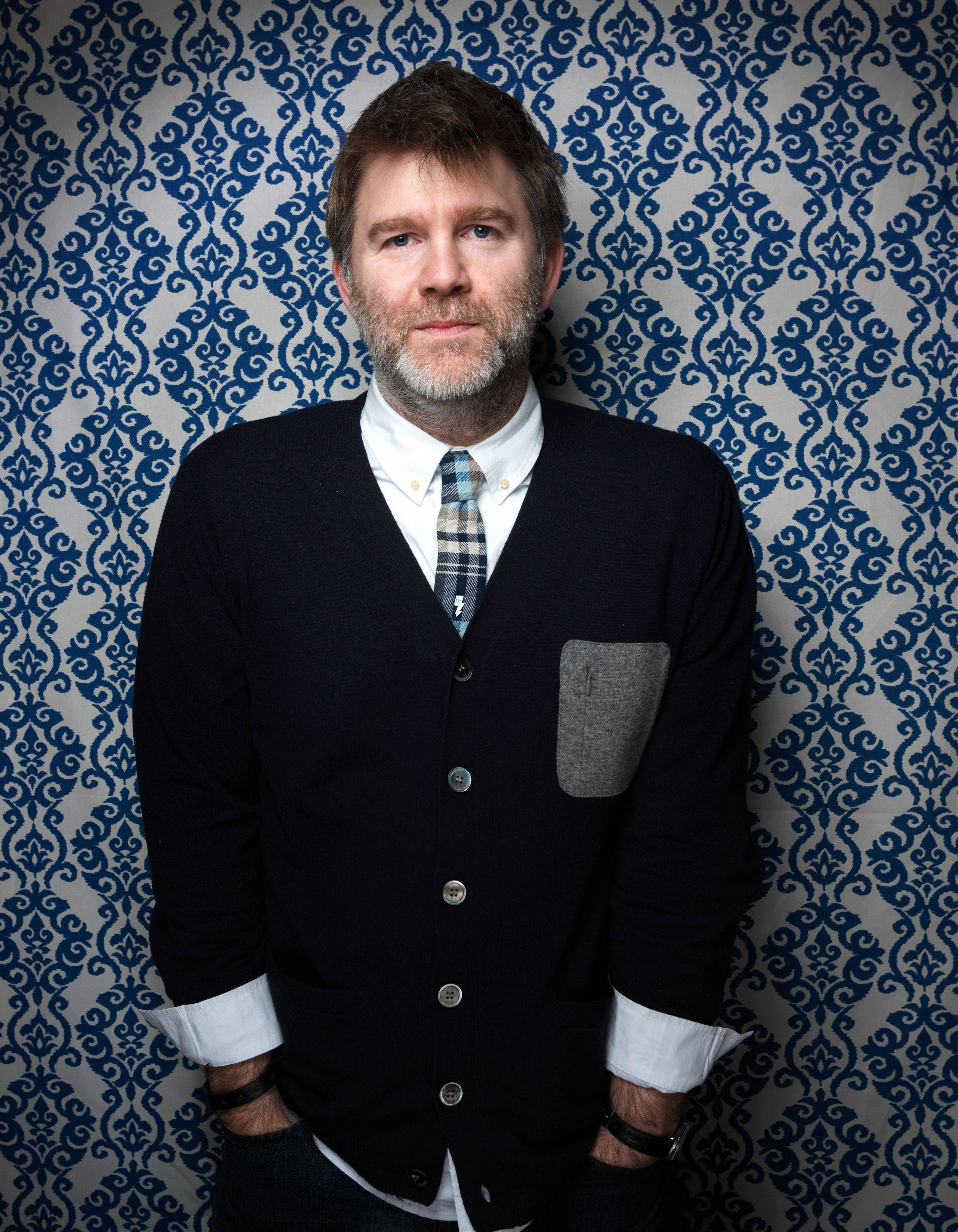 This Jan. 23, 2012 file photo shows James Murphy from the film �Shut Up And Play The Hits,� posing for a portrait during the 2012 Sundance Film Festival on Monday, Jan. 23, 2012 in Park City, Utah.