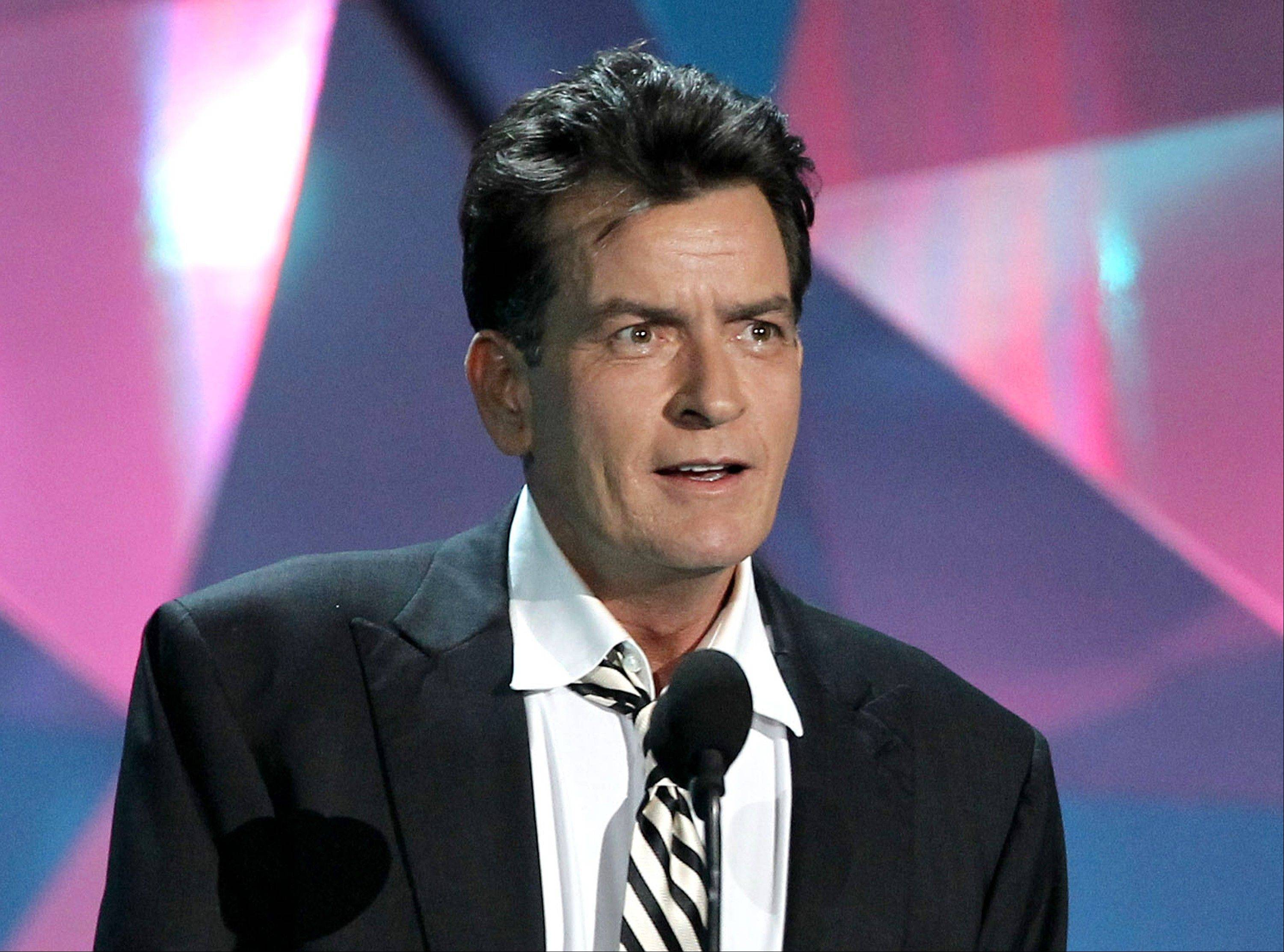 Actor Charlie Sheen said he has an interest in being a judge on �American Idol.�