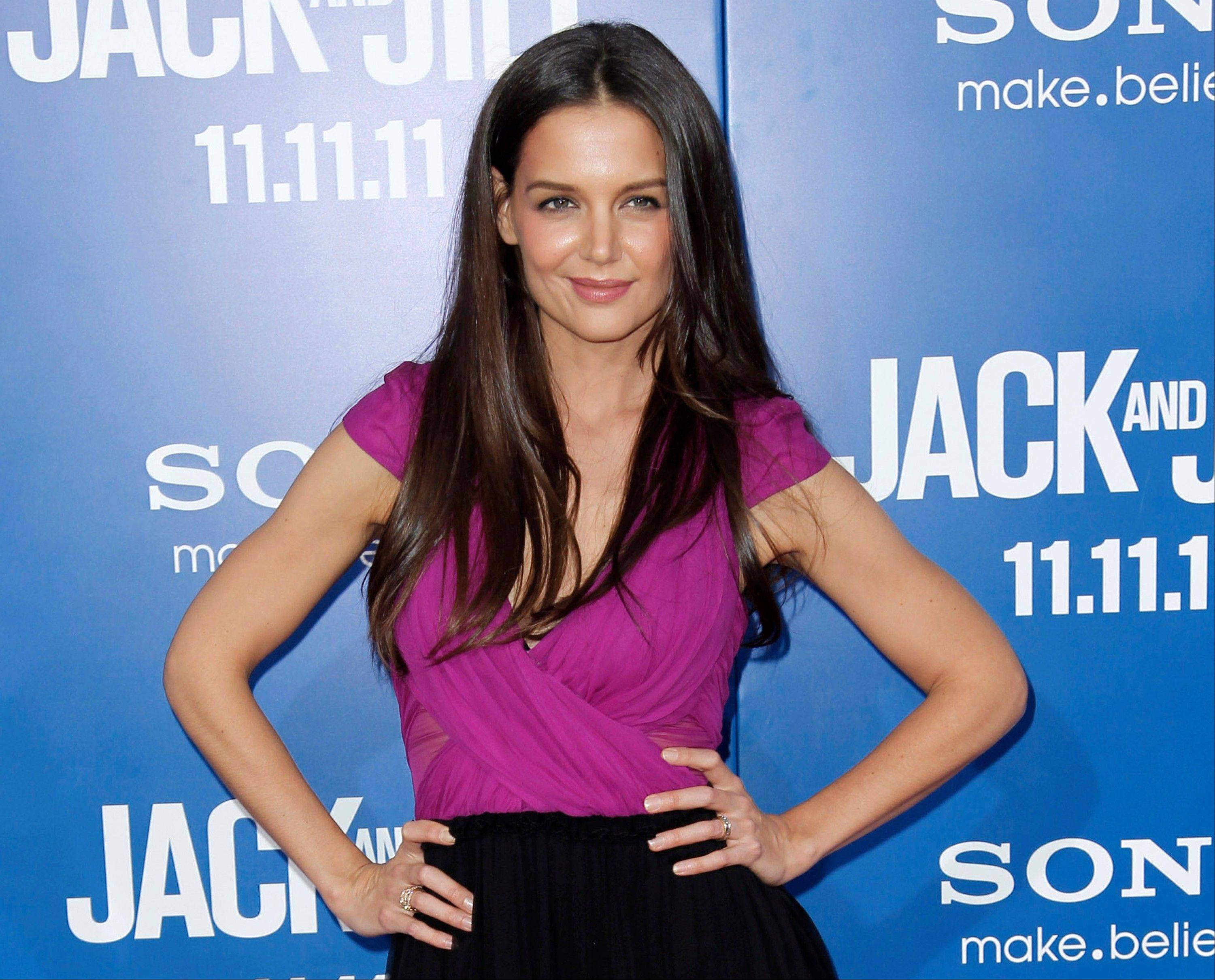 At just 33, actress Katie Holmes is emerging from the public hysteria regarding her relationship and divorce from actor Tom Cruise.