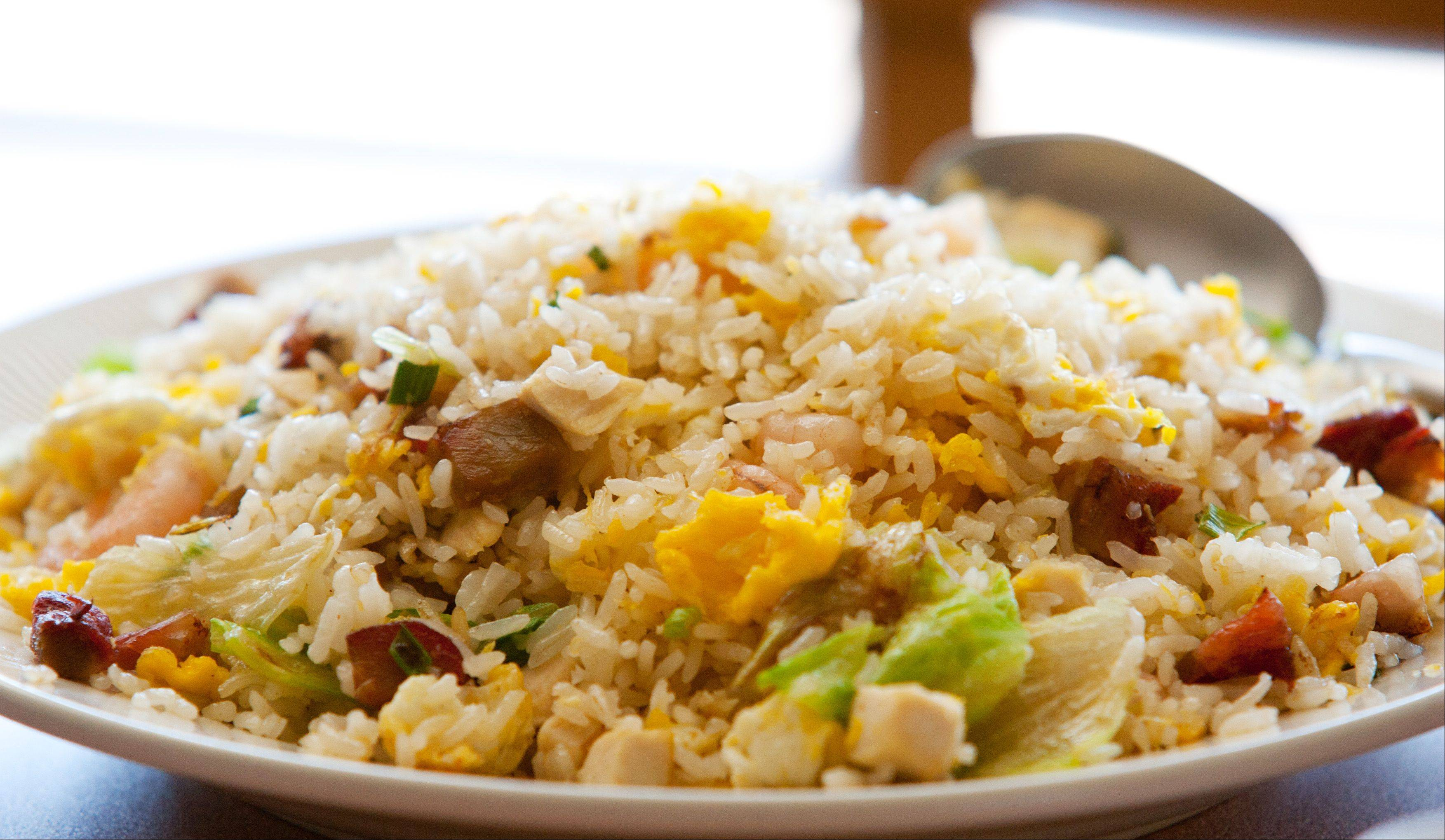 Fried rice also is on the menu at Fabulous Noodles Chinese Restaurant in Lisle.