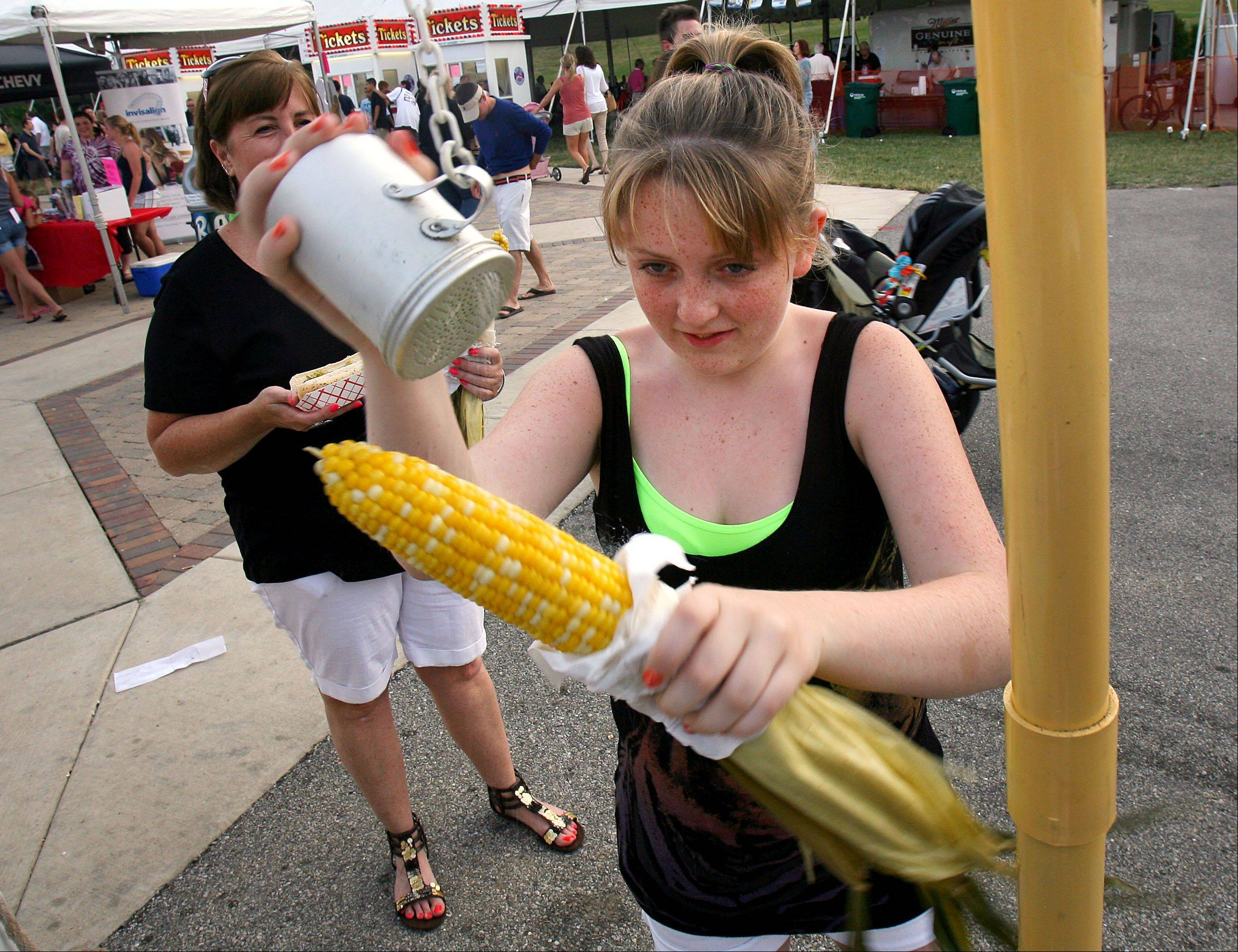 There will be plenty of food choices at the Vernon Hills Summer Celebration.