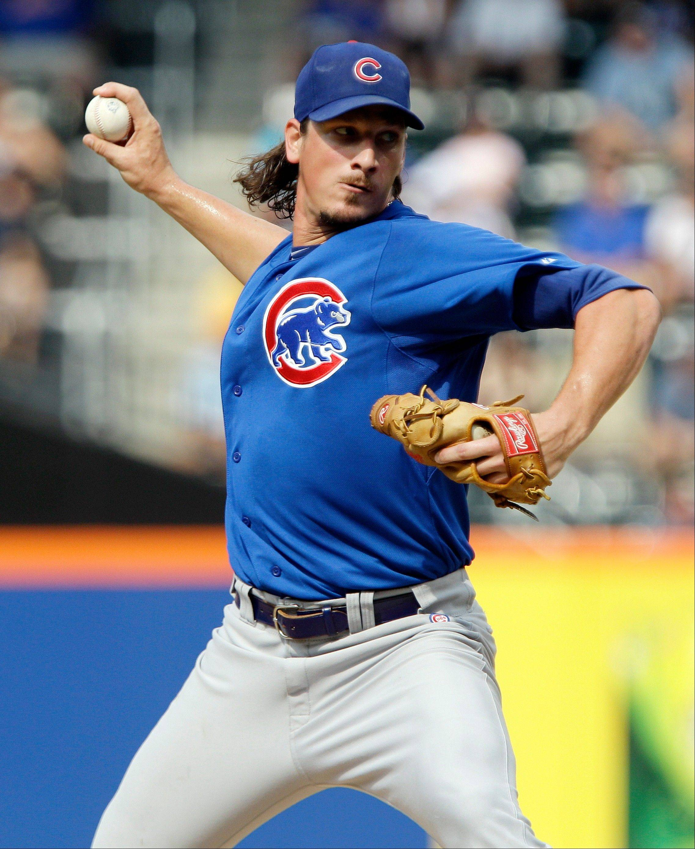 Cubs' Samardzija gets back to work tonight