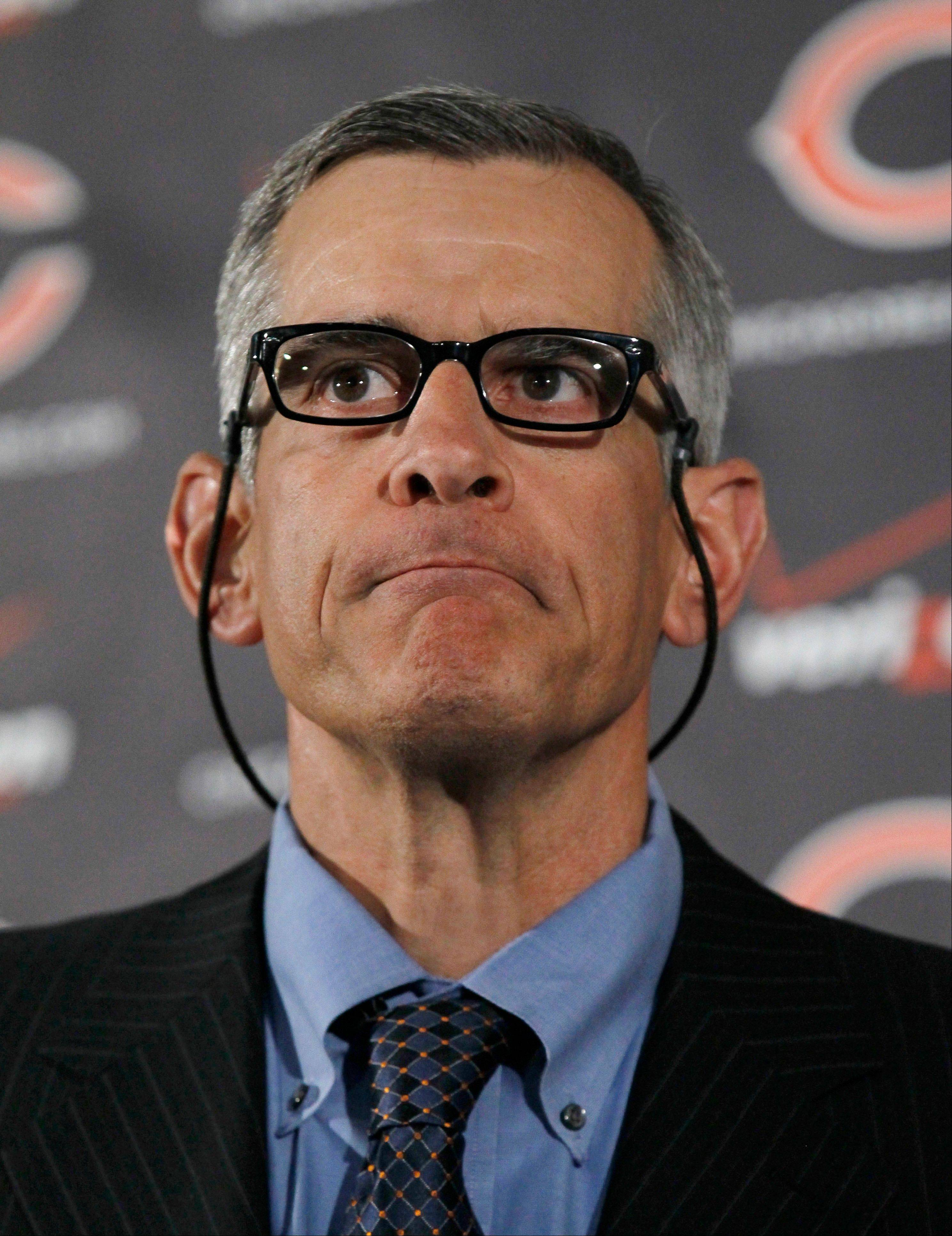 Bears general manager Phil Emery has altered the attitude of the team's fans in the few short months he has been on the job.